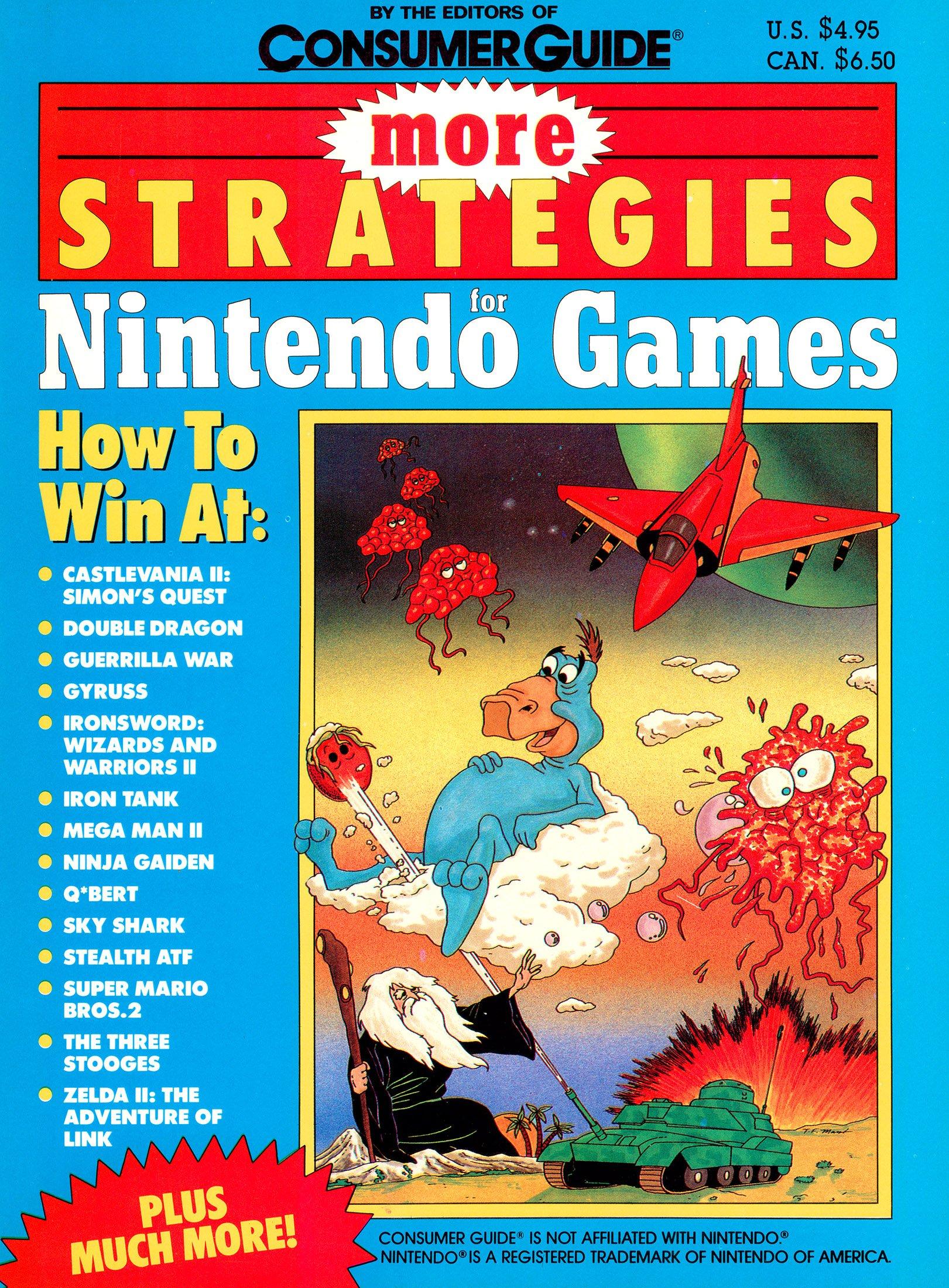More Strategies for Nintendo Games