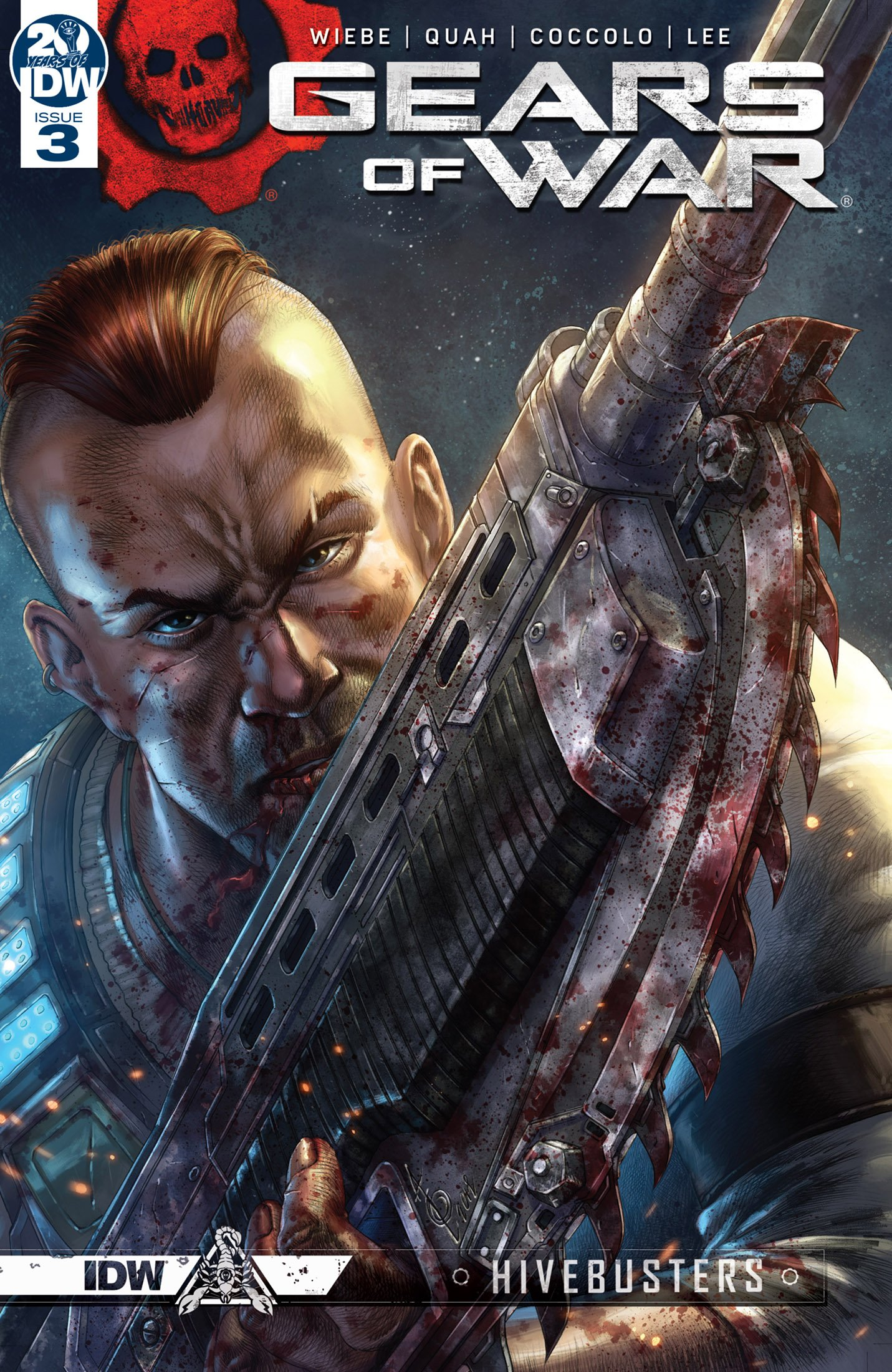 Gears of War - Hivebusters 003 (May 2019)