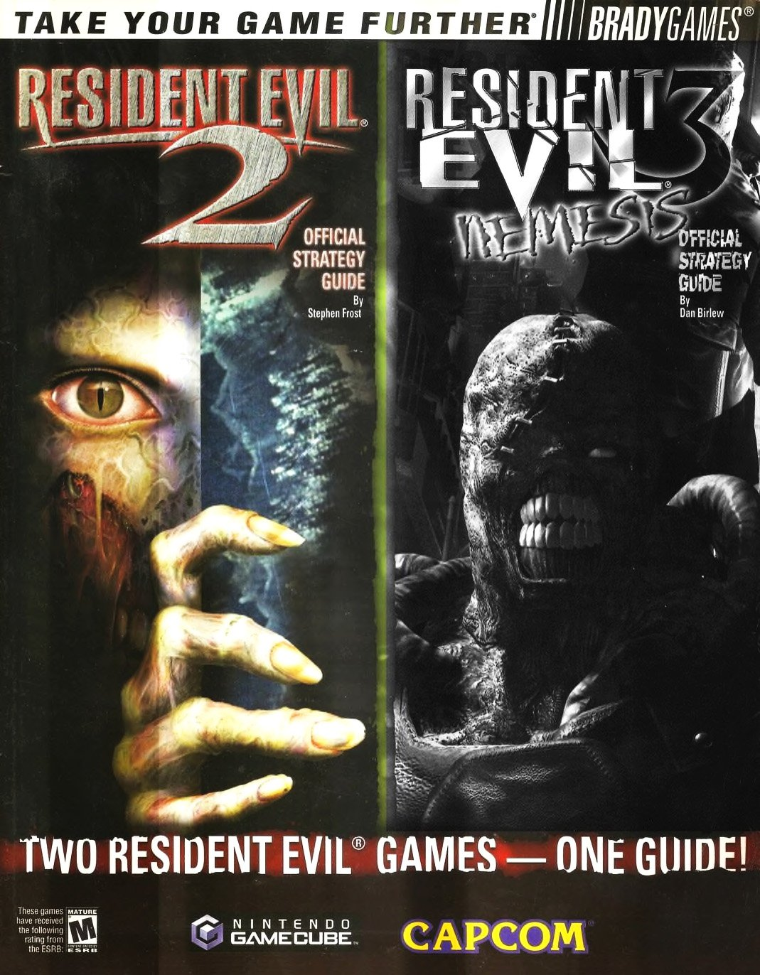Resident Evil 2 & 3 Official Guide