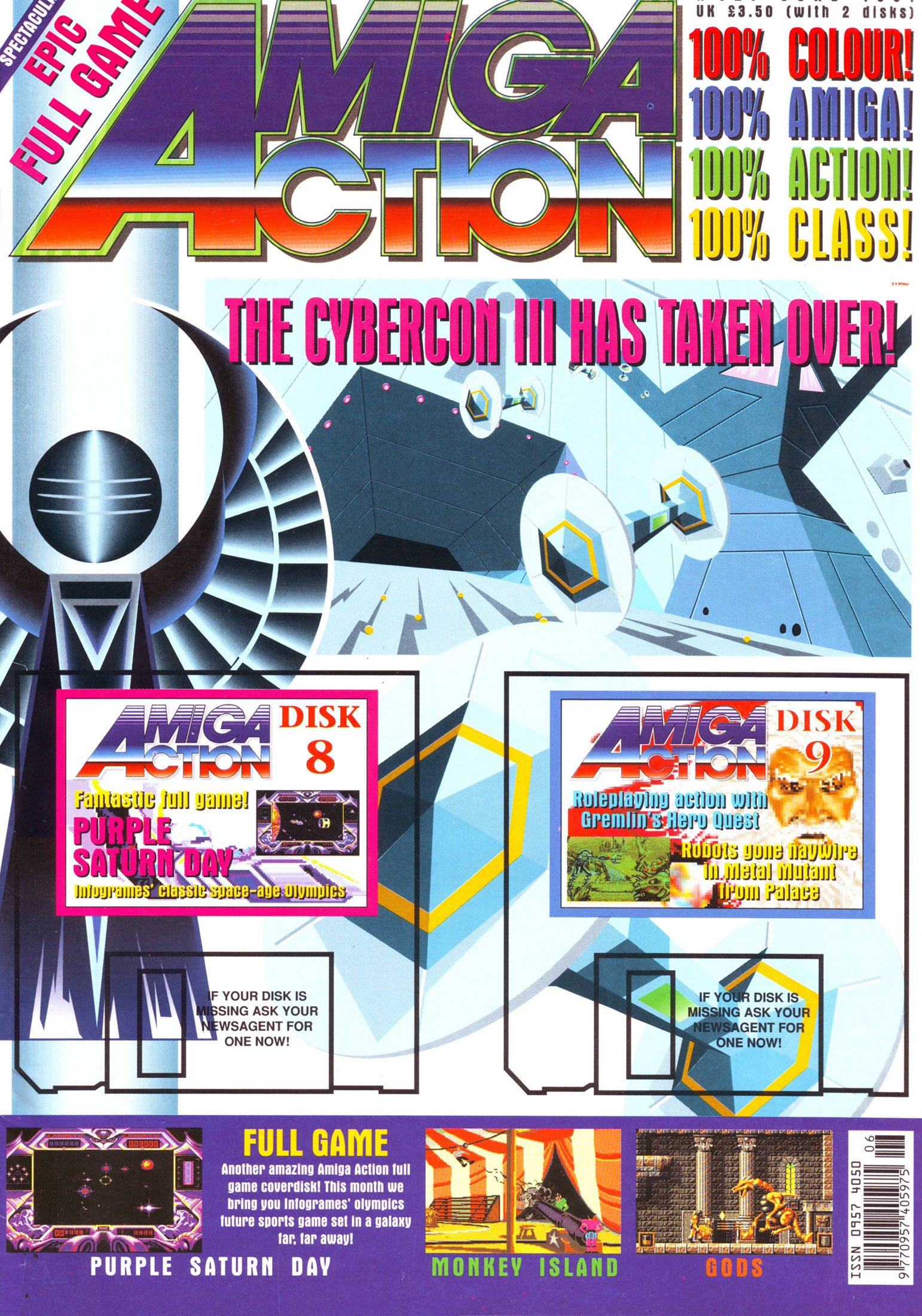 Amiga Action 021 (June 1991)