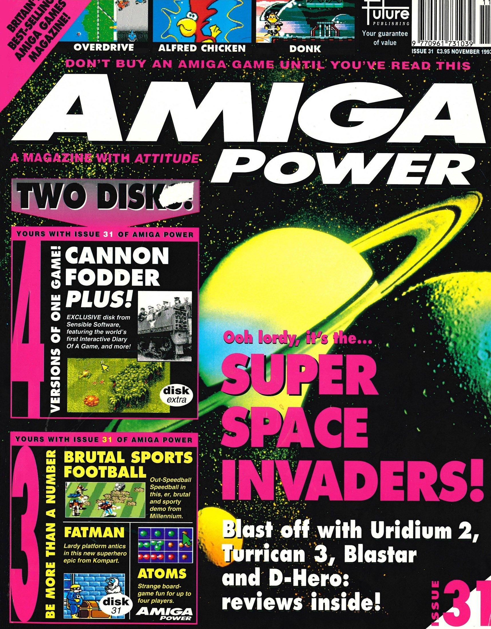Amiga Power Issue 31 (November 1993)