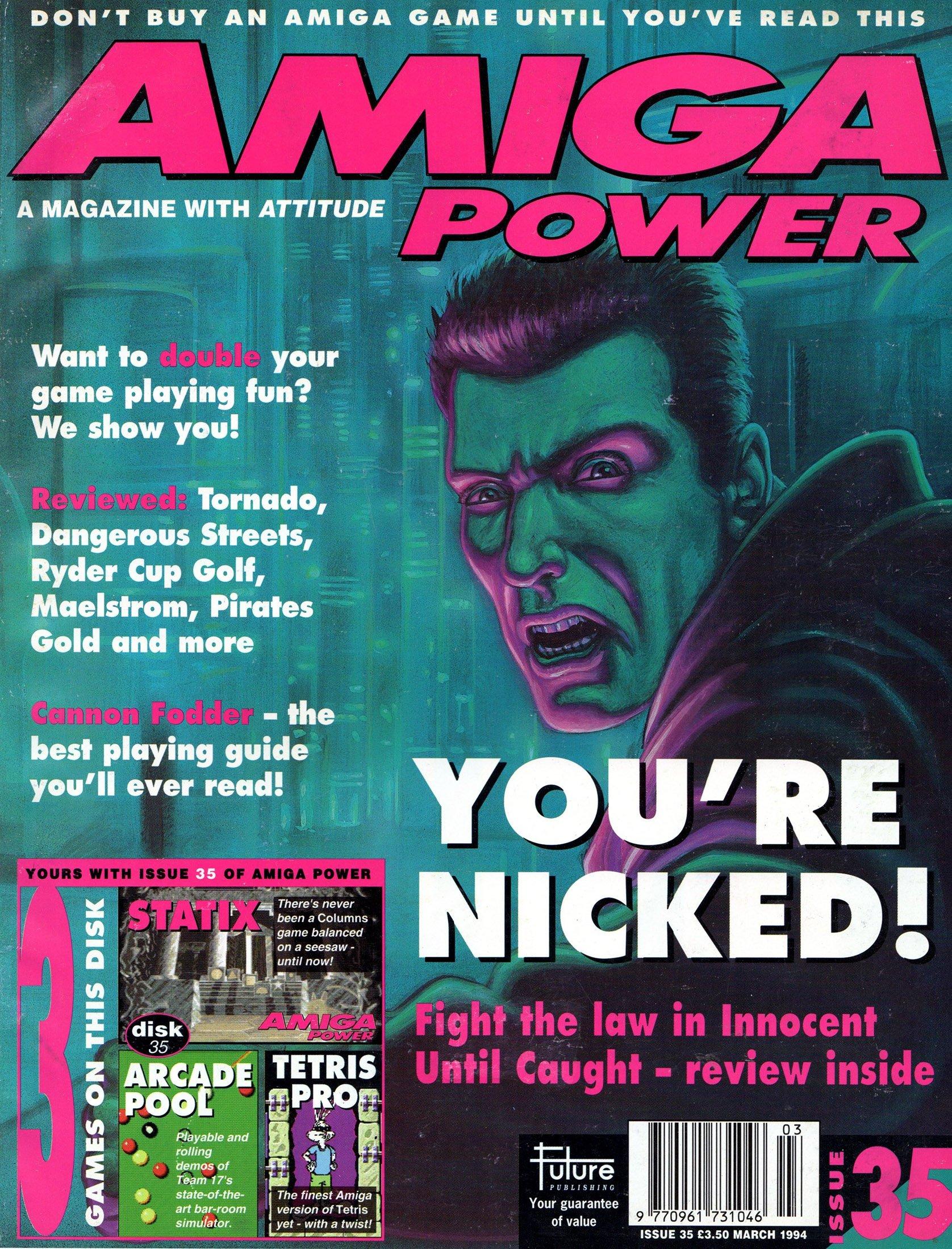 Amiga Power Issue 35 (March 1994)