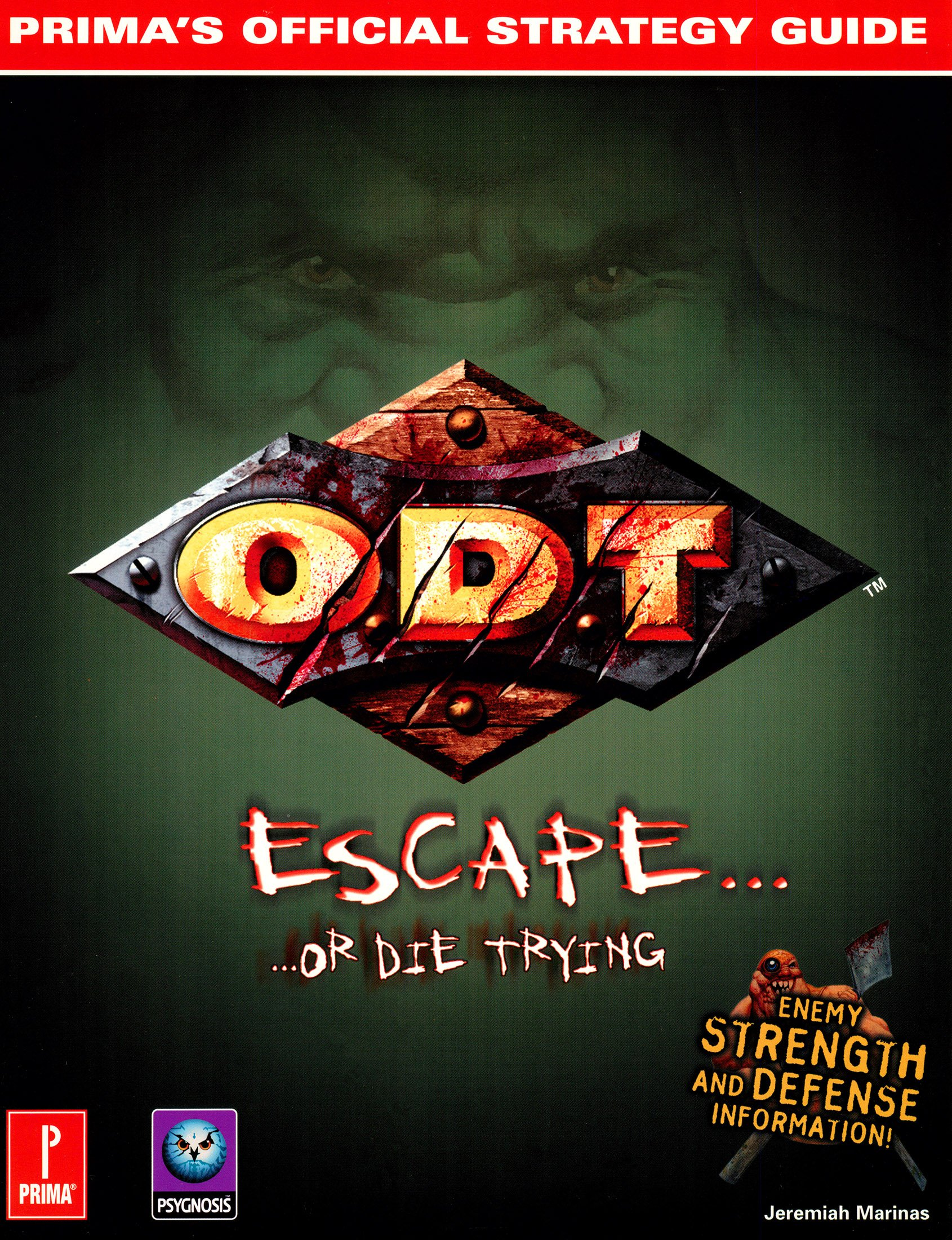 O.D.T - Prima's Official Strategy Guide