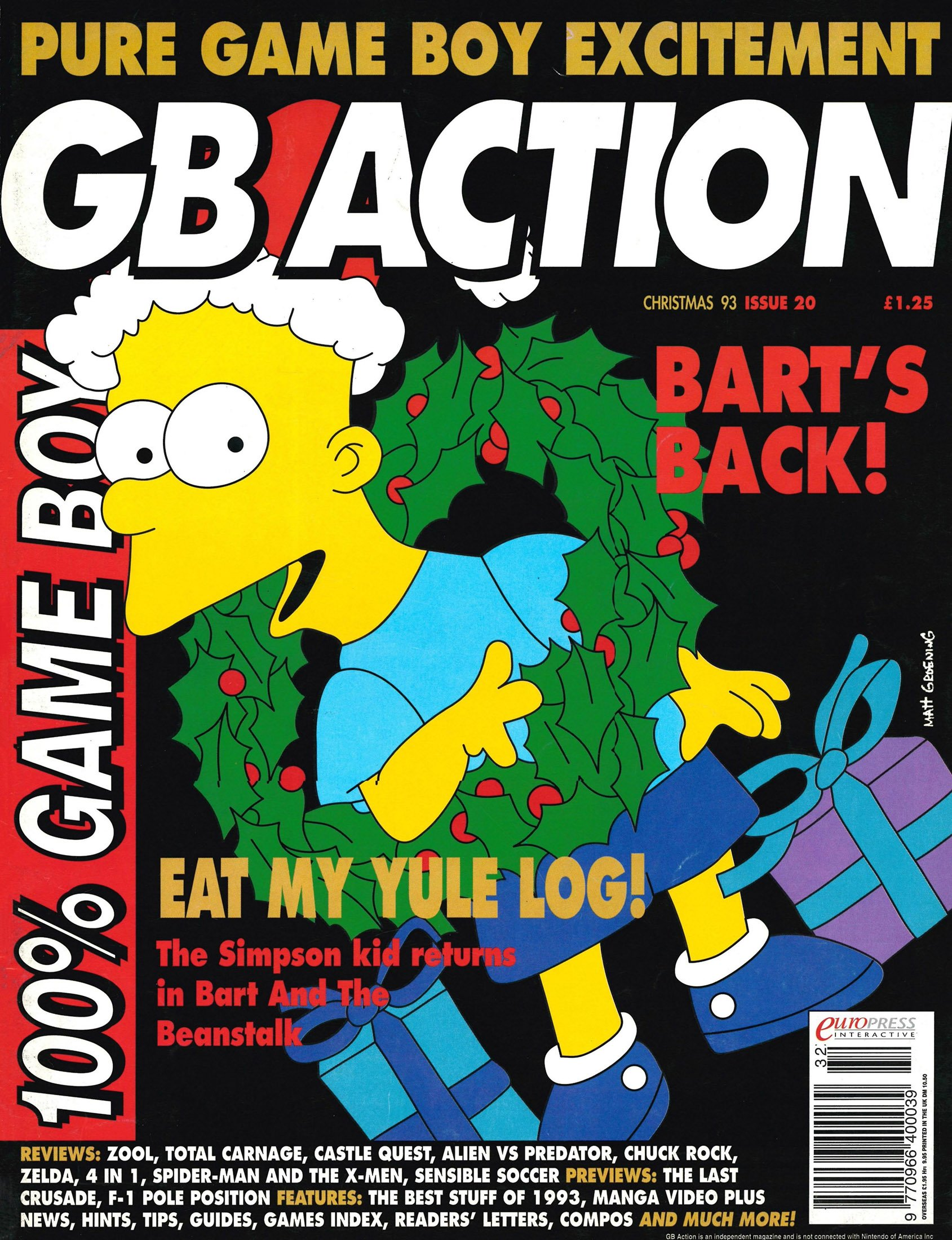 GB Action Issue 20 (Christmas 1993)