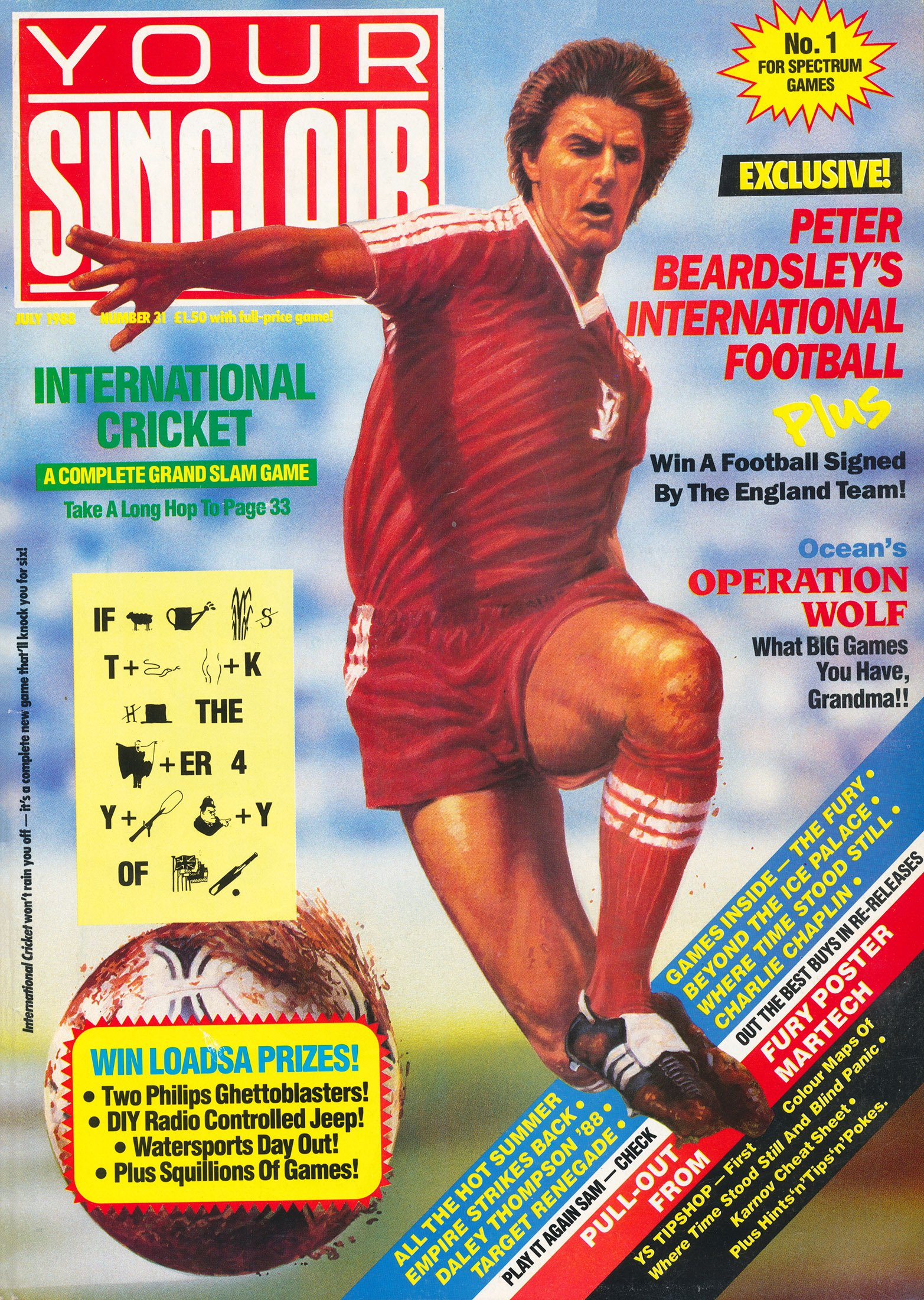 Your Sinclair Issue 31 (July 1988)
