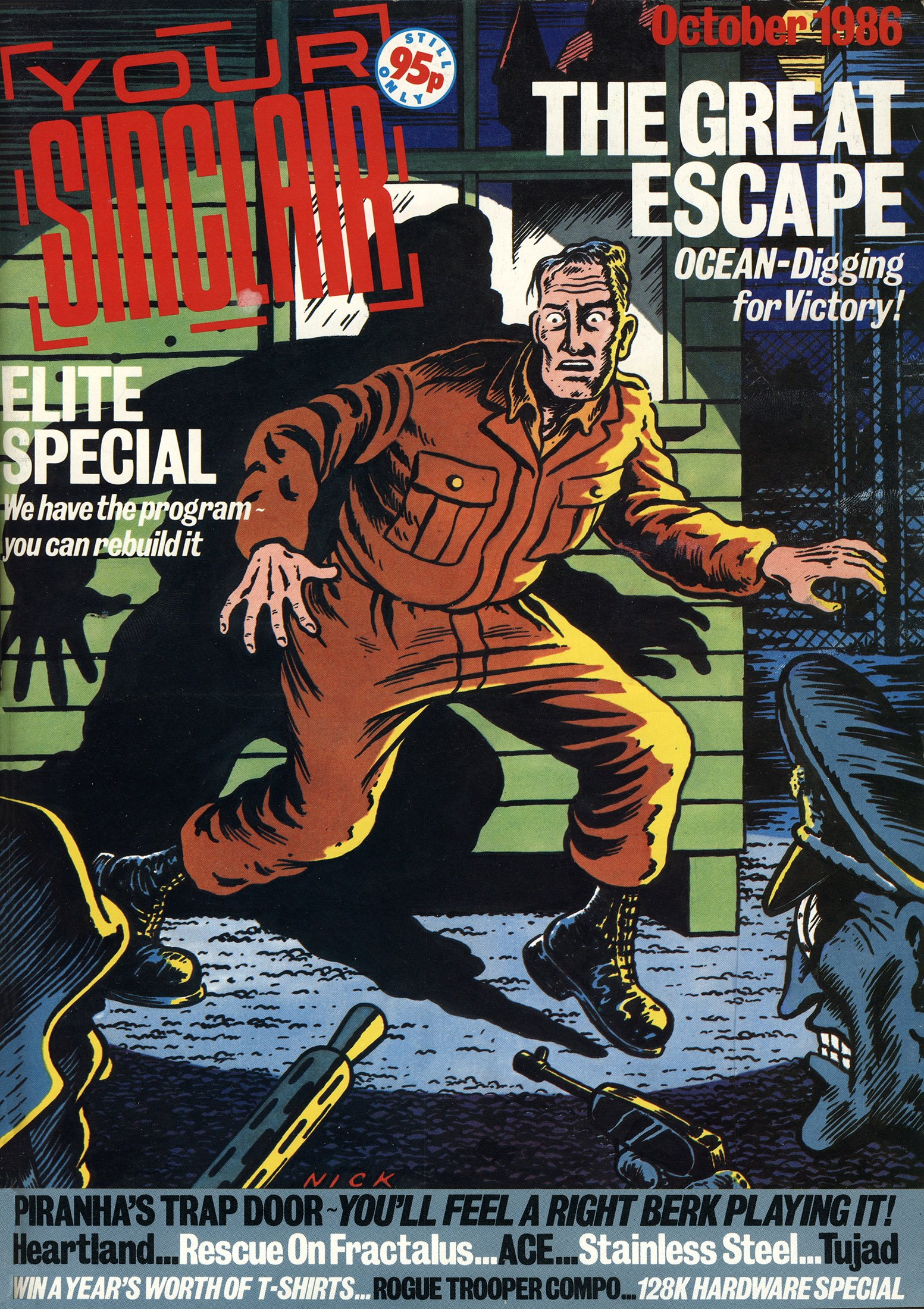 Your Sinclair Issue 10 (October 1986)