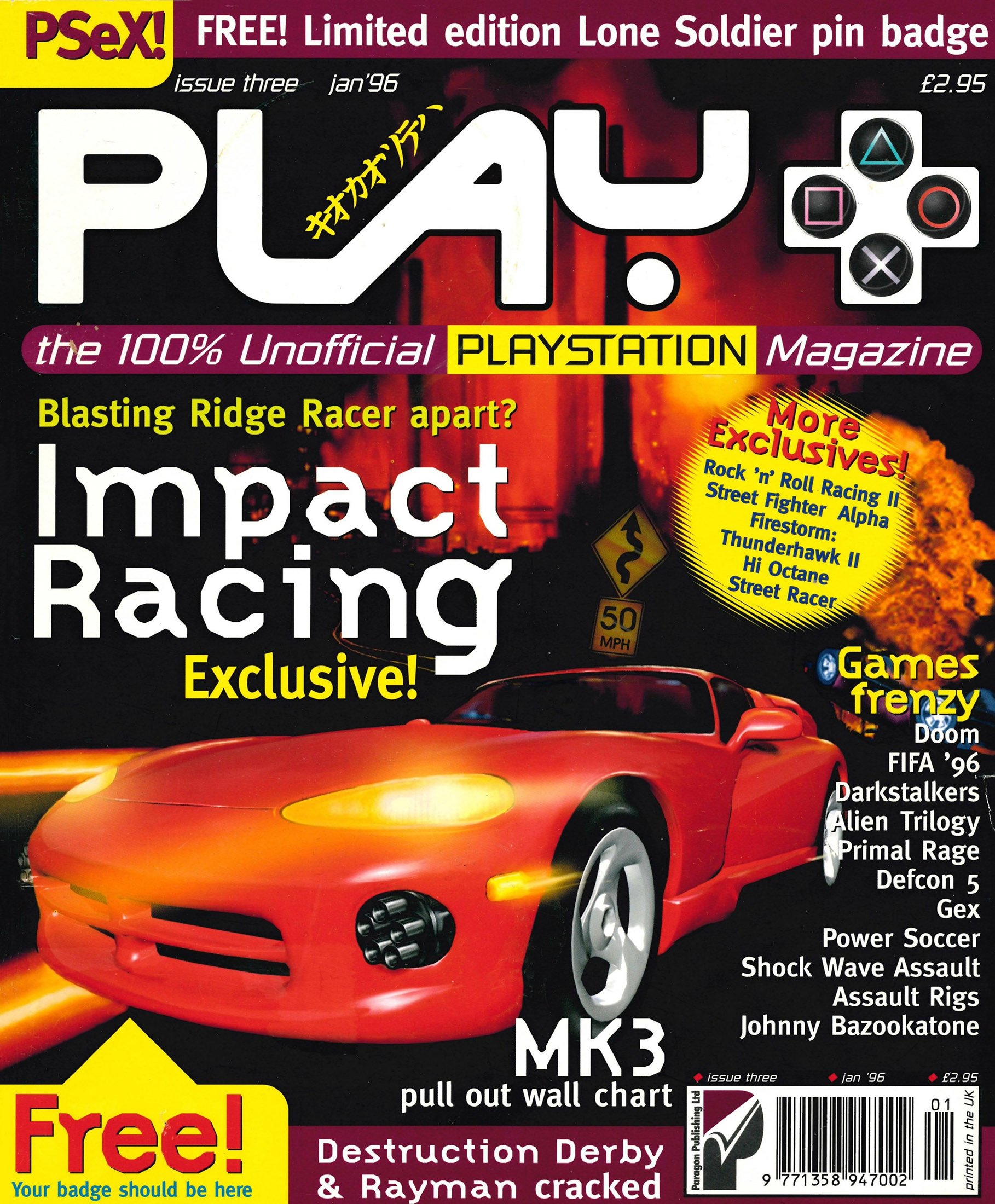 Play UK 003 (January 1996)