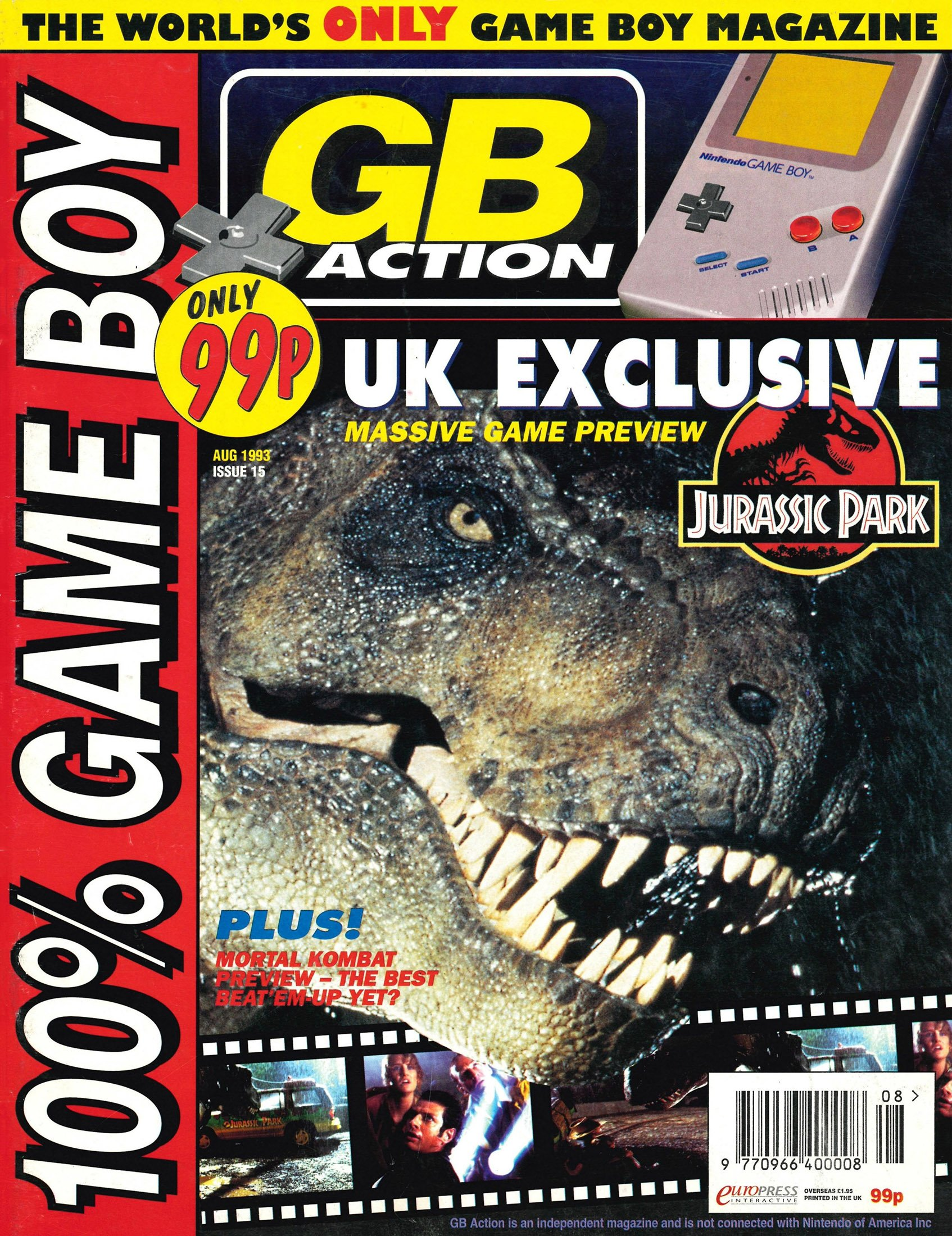 GB Action Issue 15 (August 1993)