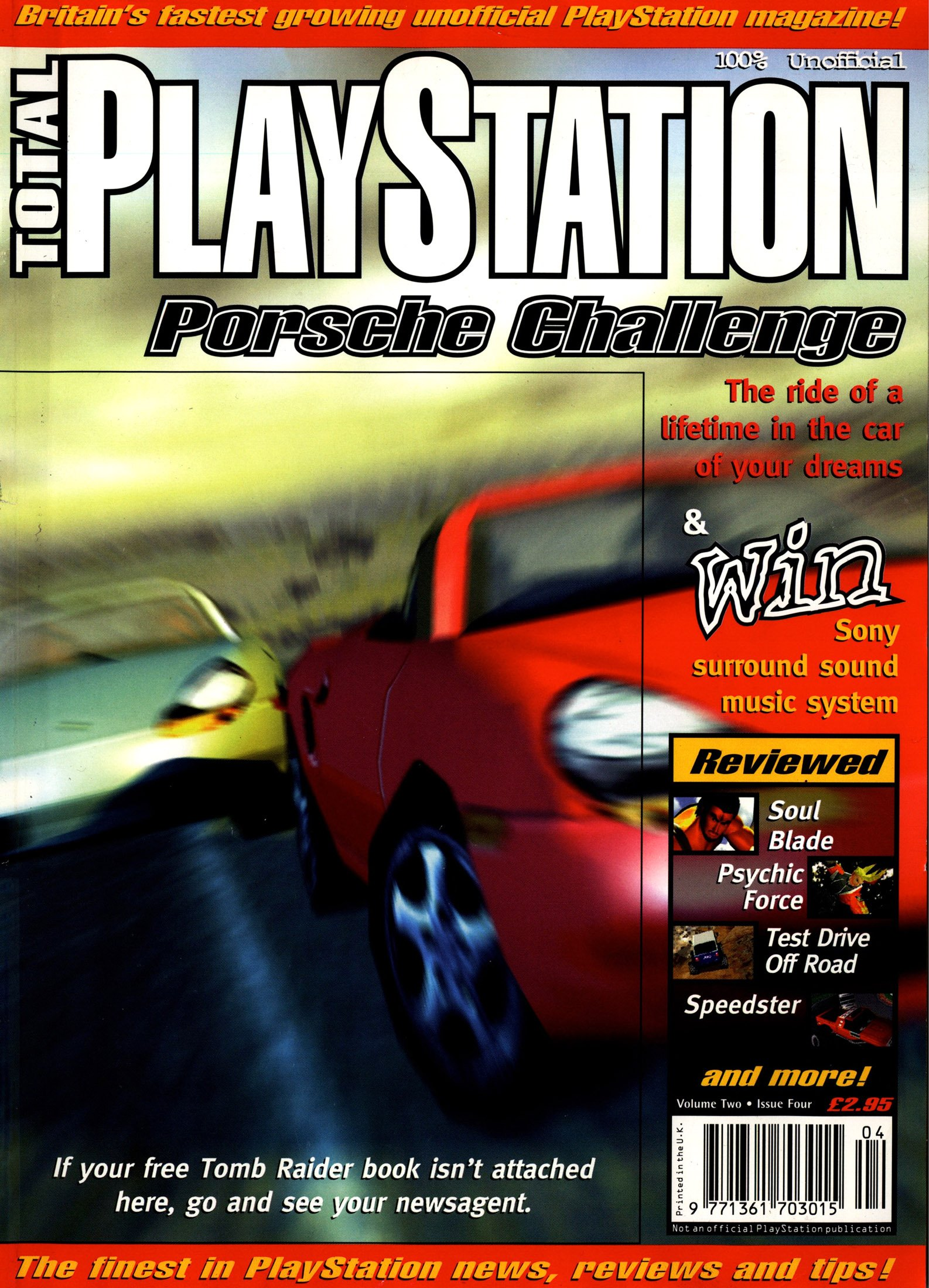 Total PlayStation Issue 15 (April 1997)