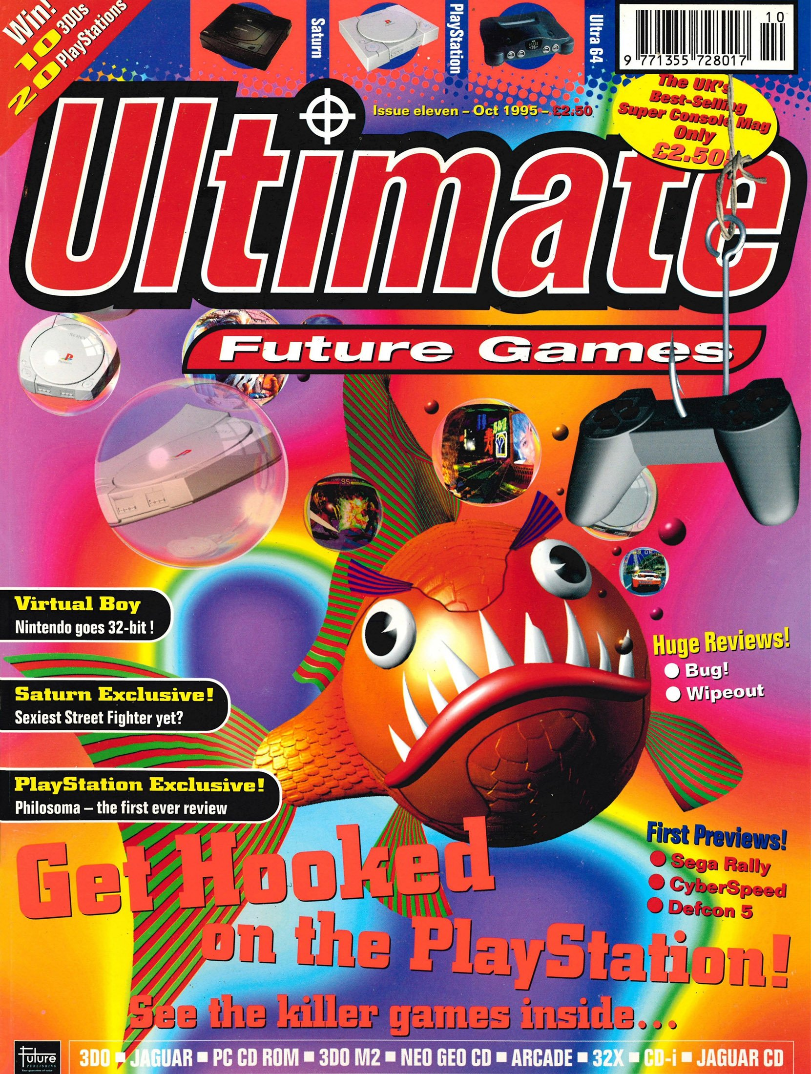 Ultimate Future Games 11 (October 1995)