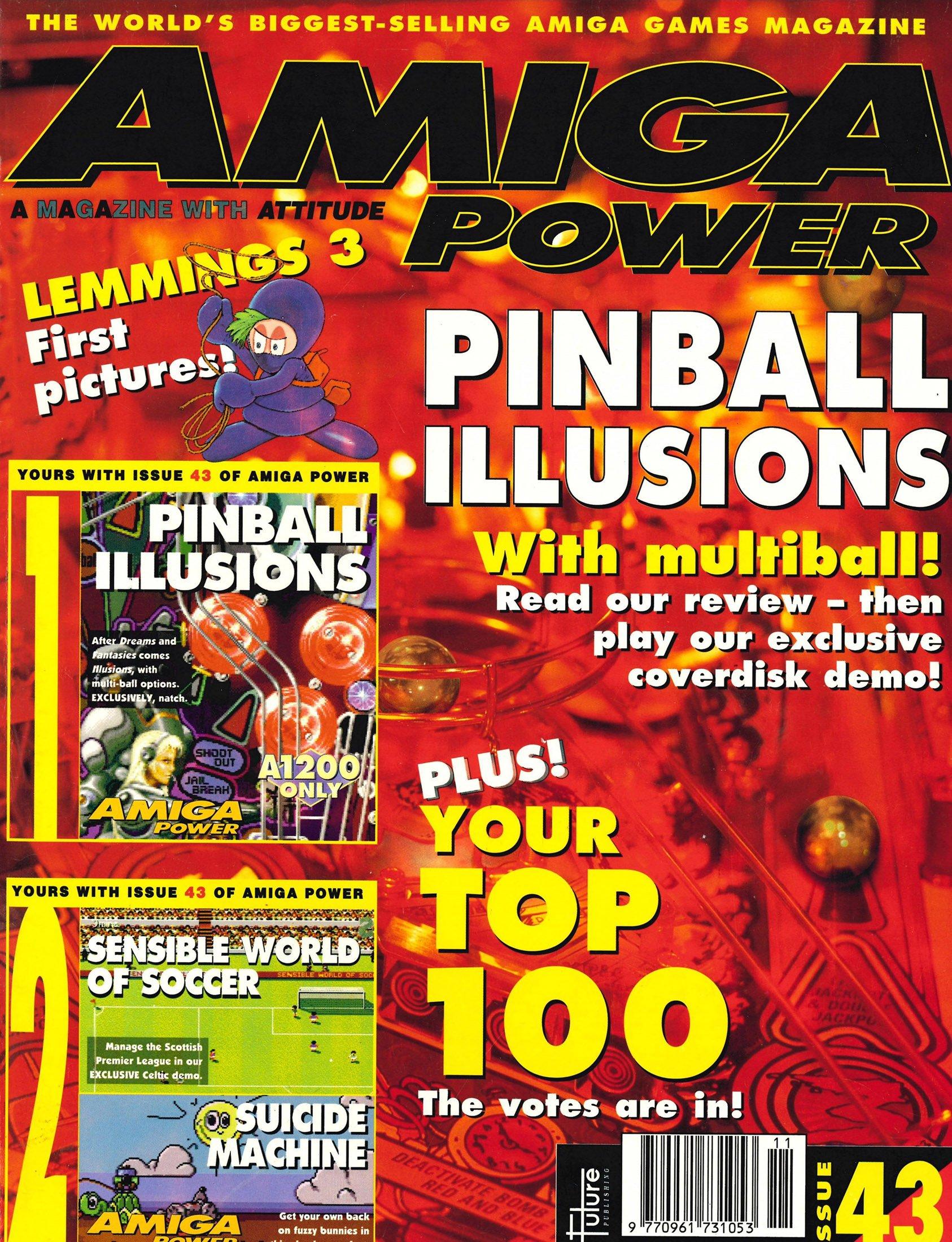 Amiga Power Issue 43 (November 1994)