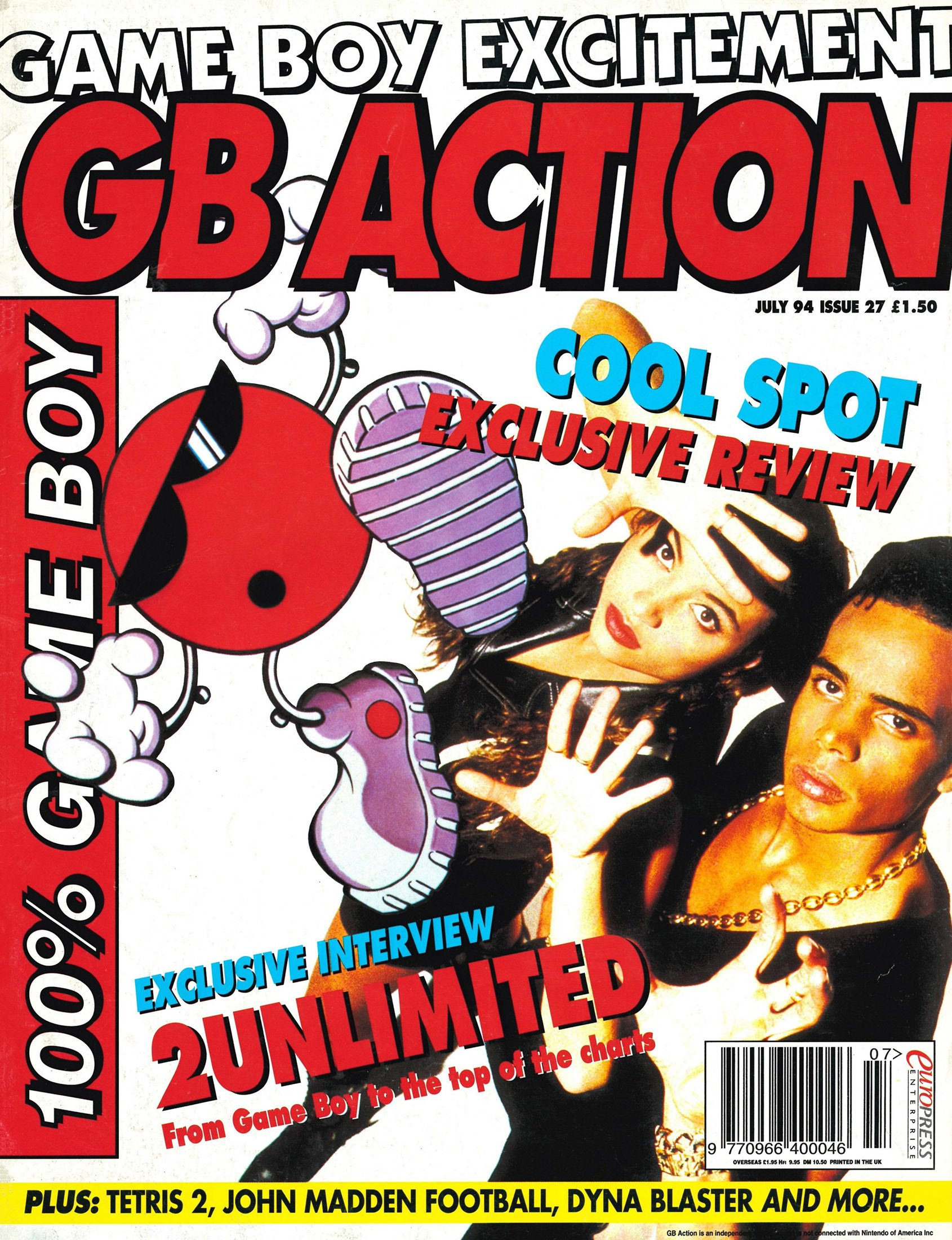 GB Action Issue 27 (July 1994)