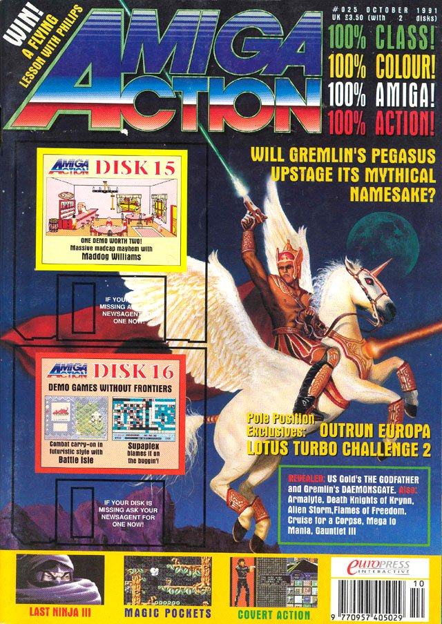 Amiga Action 025 (October 1991)