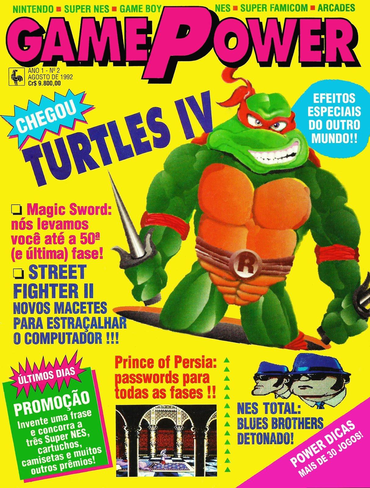 GamePower Issue 02 (August 1992)