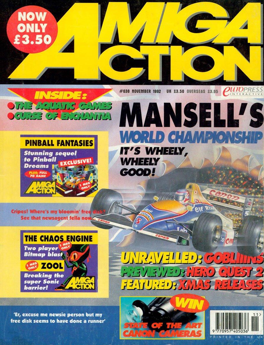 Amiga Action 038 (November 1992)