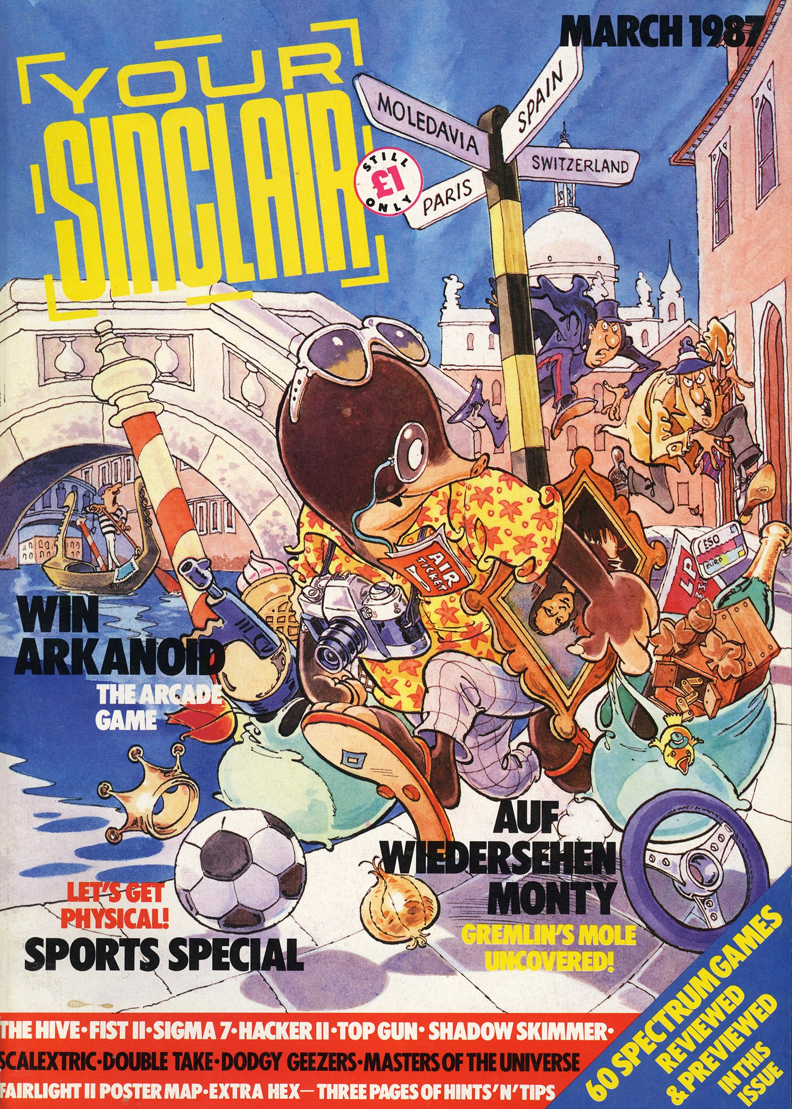 Your Sinclair Issue 15 (March 1987)