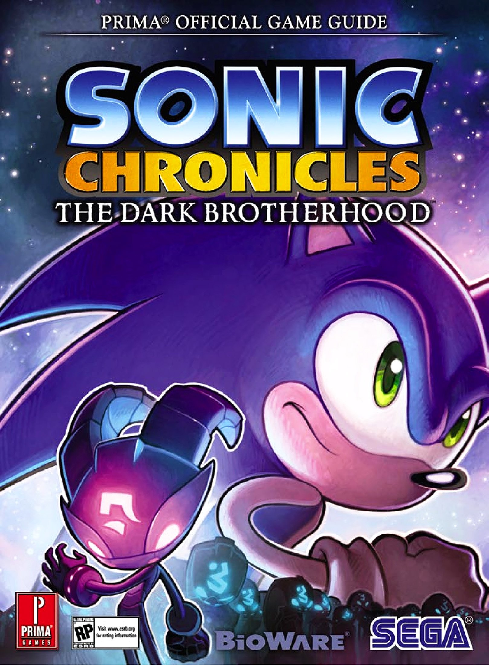 Sonic Chronicles The Dark Brotherhood - Prima Official Guide