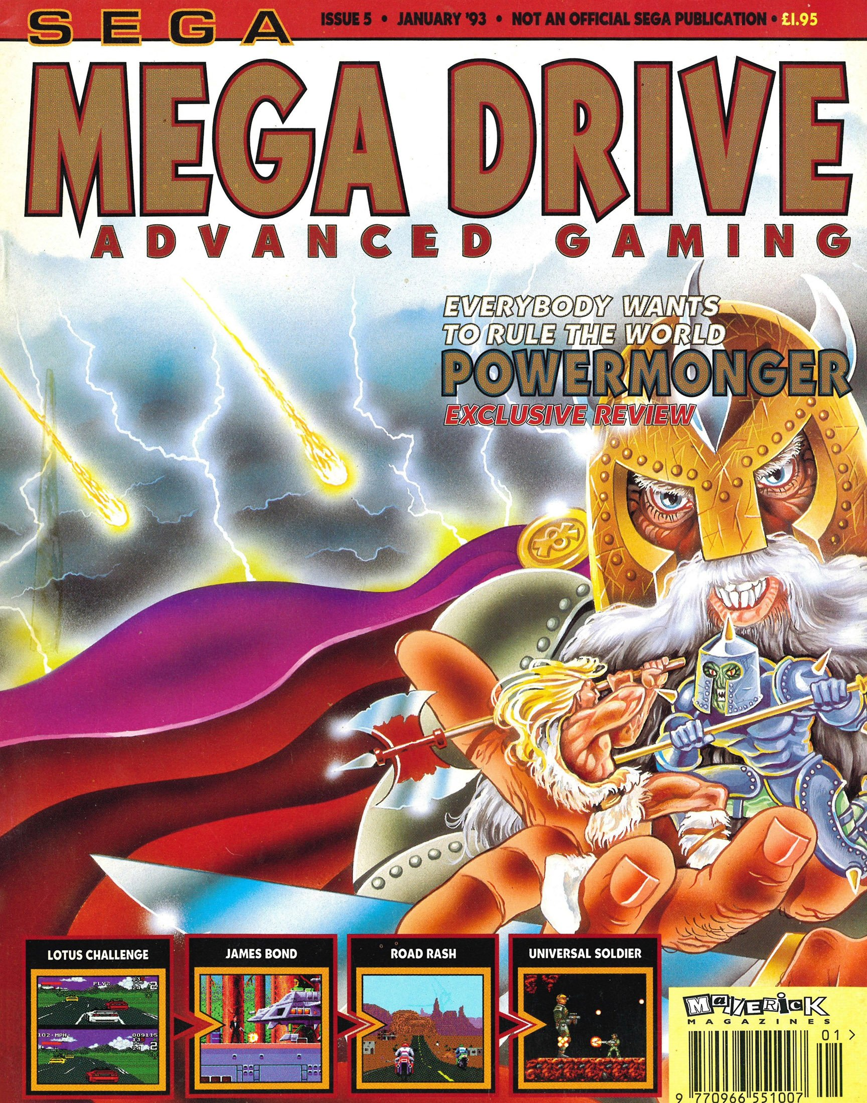 Mega Drive Advanced Gaming 05 (January 1993)