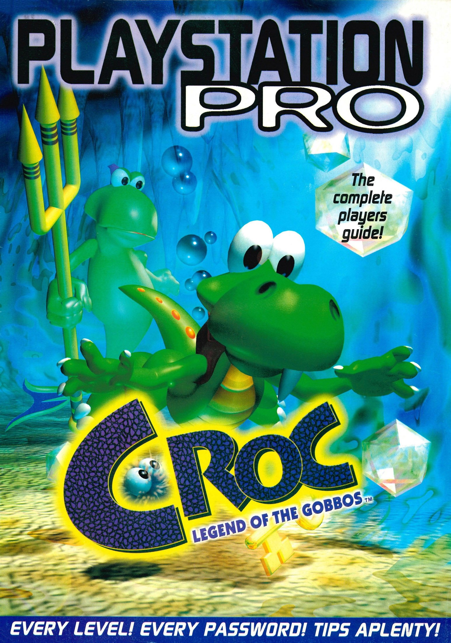 Croc: The Complete Player's Guide (Issue 15 supplement) (Christmas 1997)