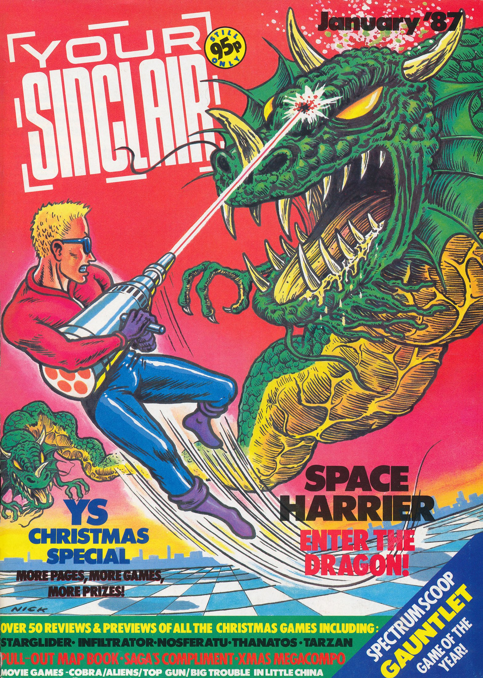 Your Sinclair Issue 13 (January 1987)