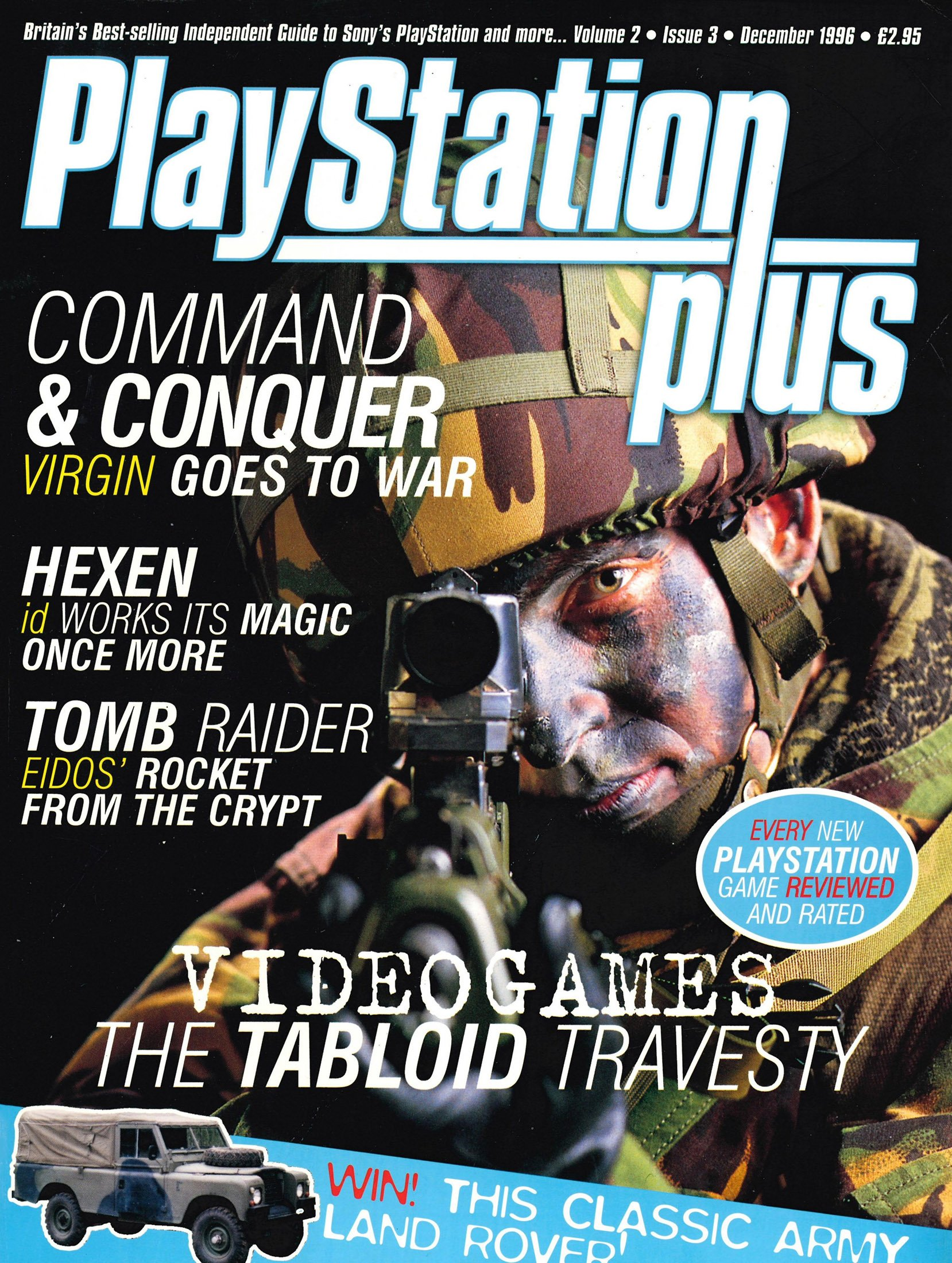 PlayStation Plus Issue 015 (December 1996)