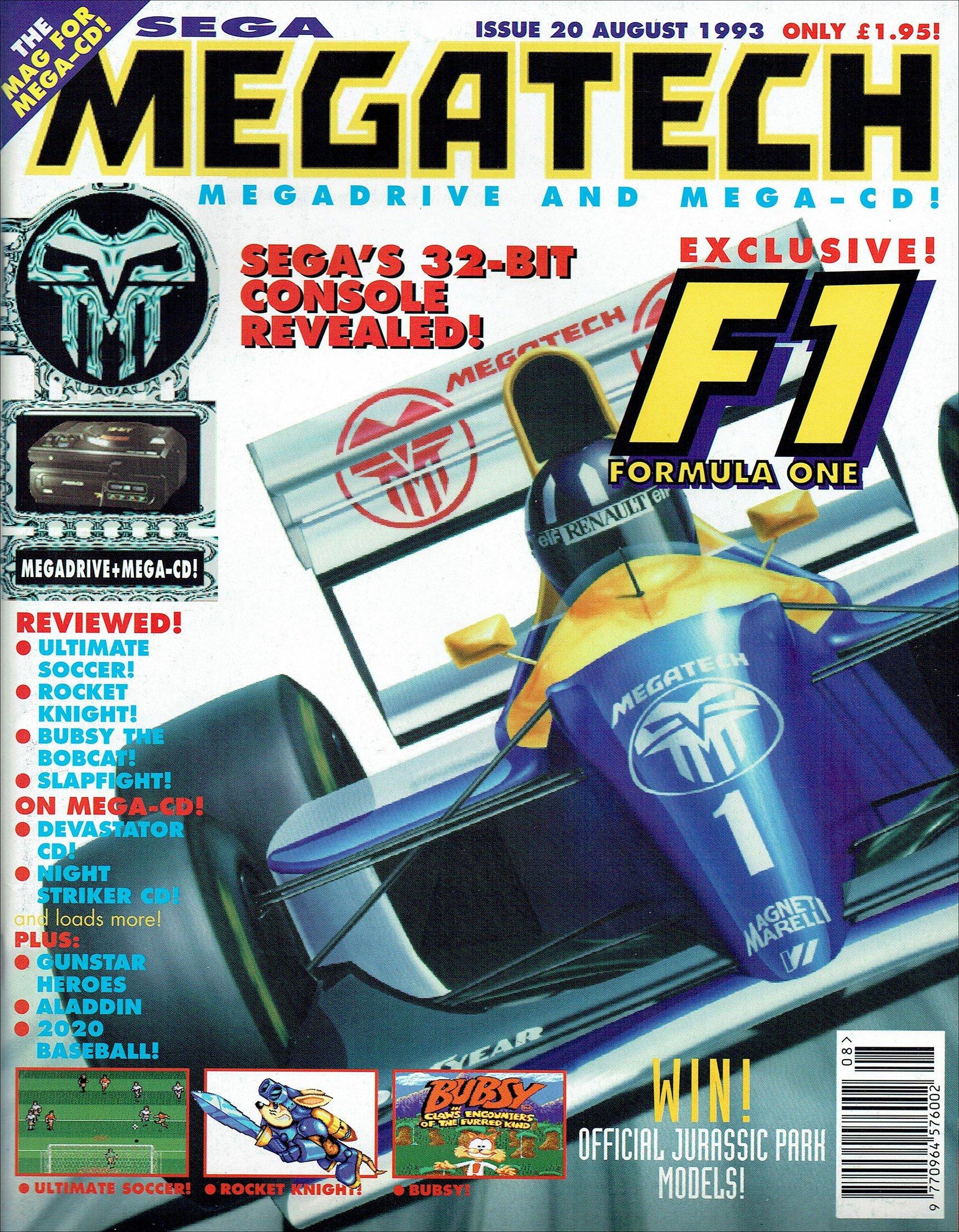 MegaTech 20 (August 1993)