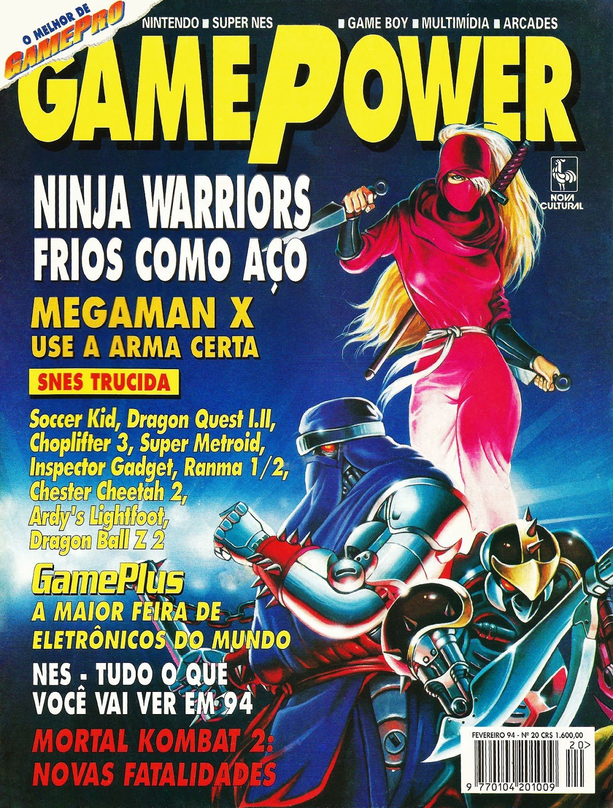 GamePower Issue 020 (February 1994)