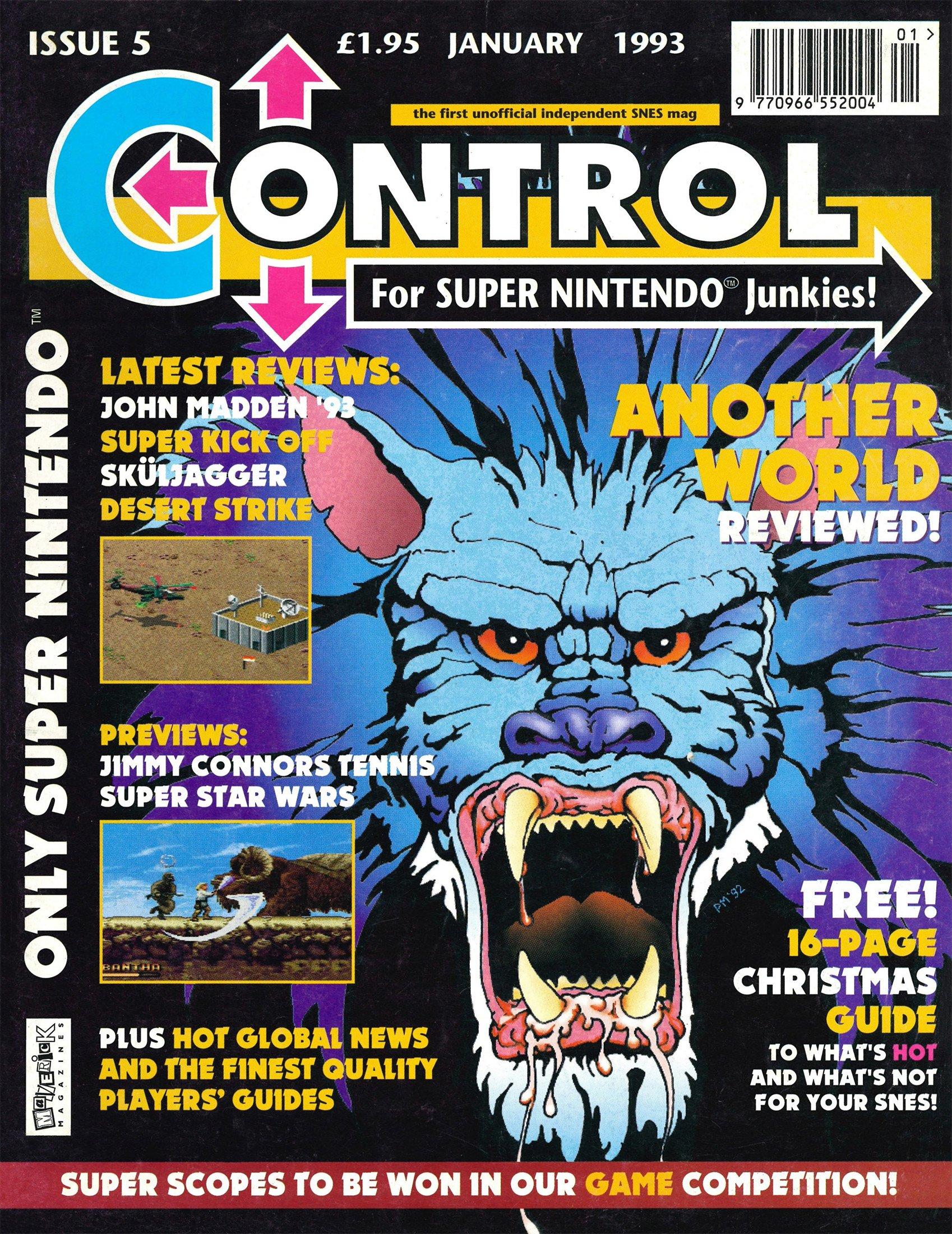 Control 5 (January 1993)