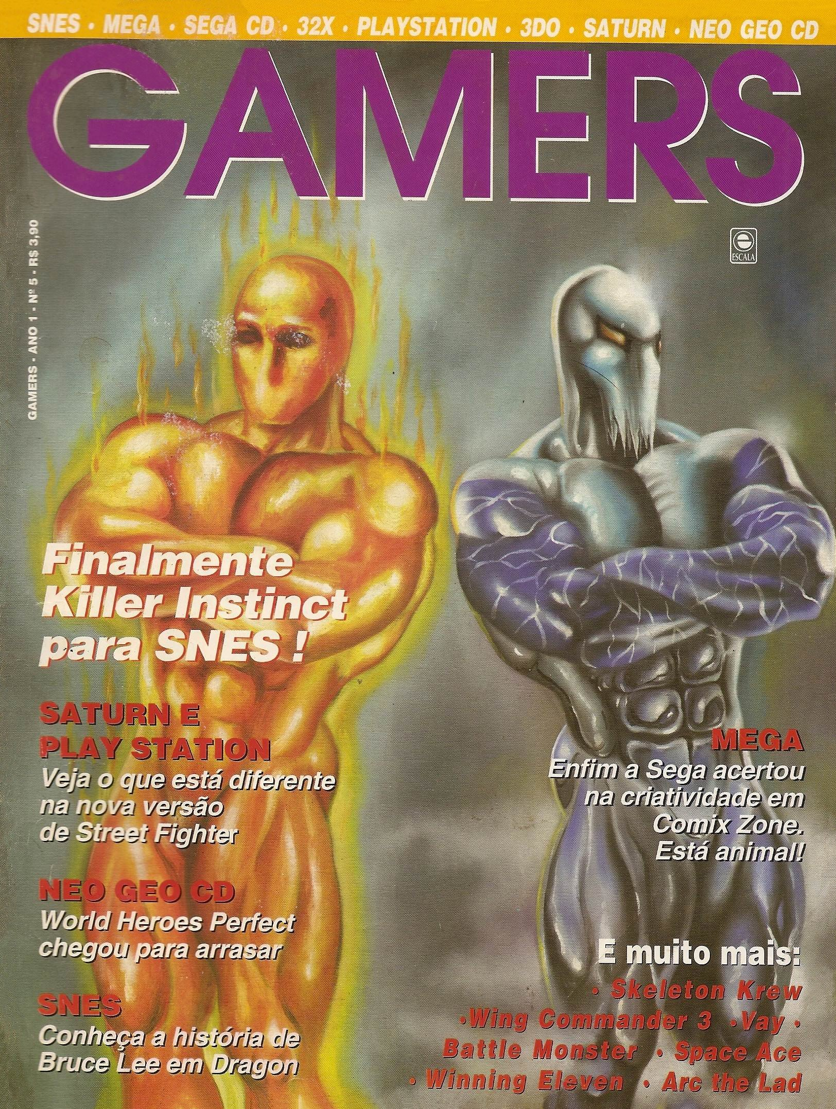 Gamers Issue 05 (1995)
