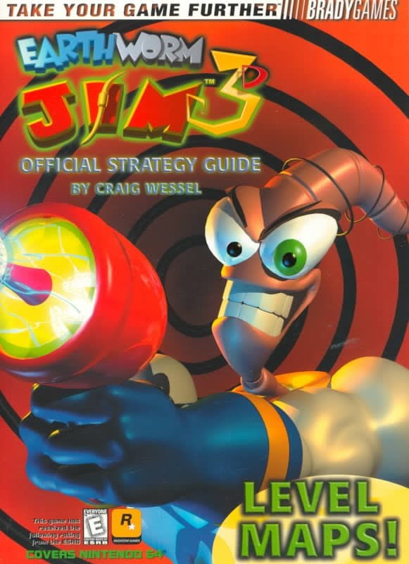 Earthworm Jim 3D Official Strategy Guide