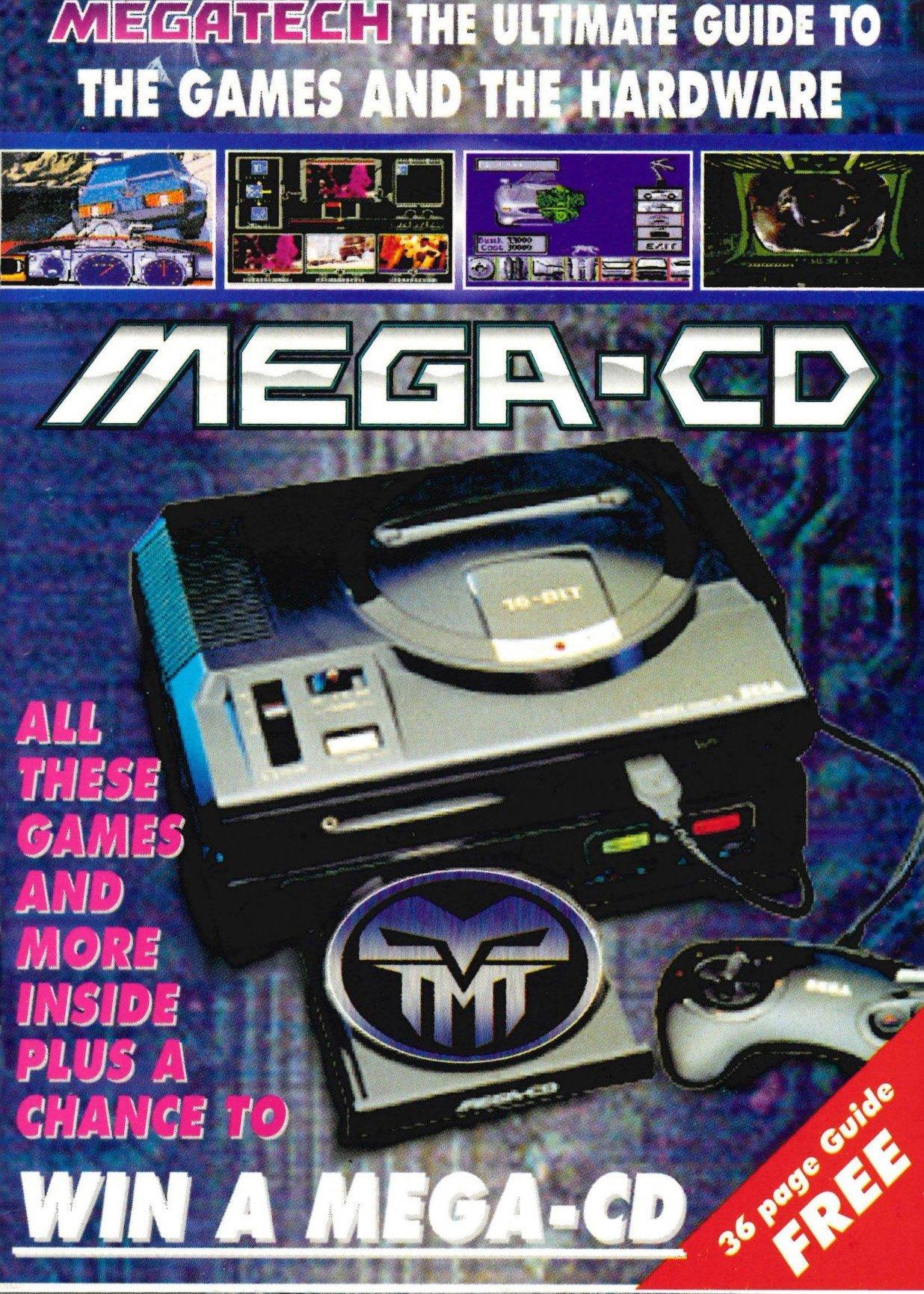 Megatech Magazine Supplement Mega CD Guide