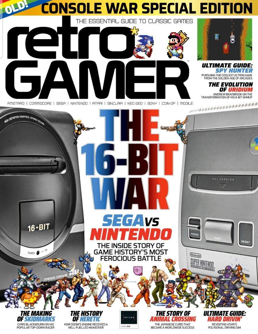 Retro Gamer Issue 205