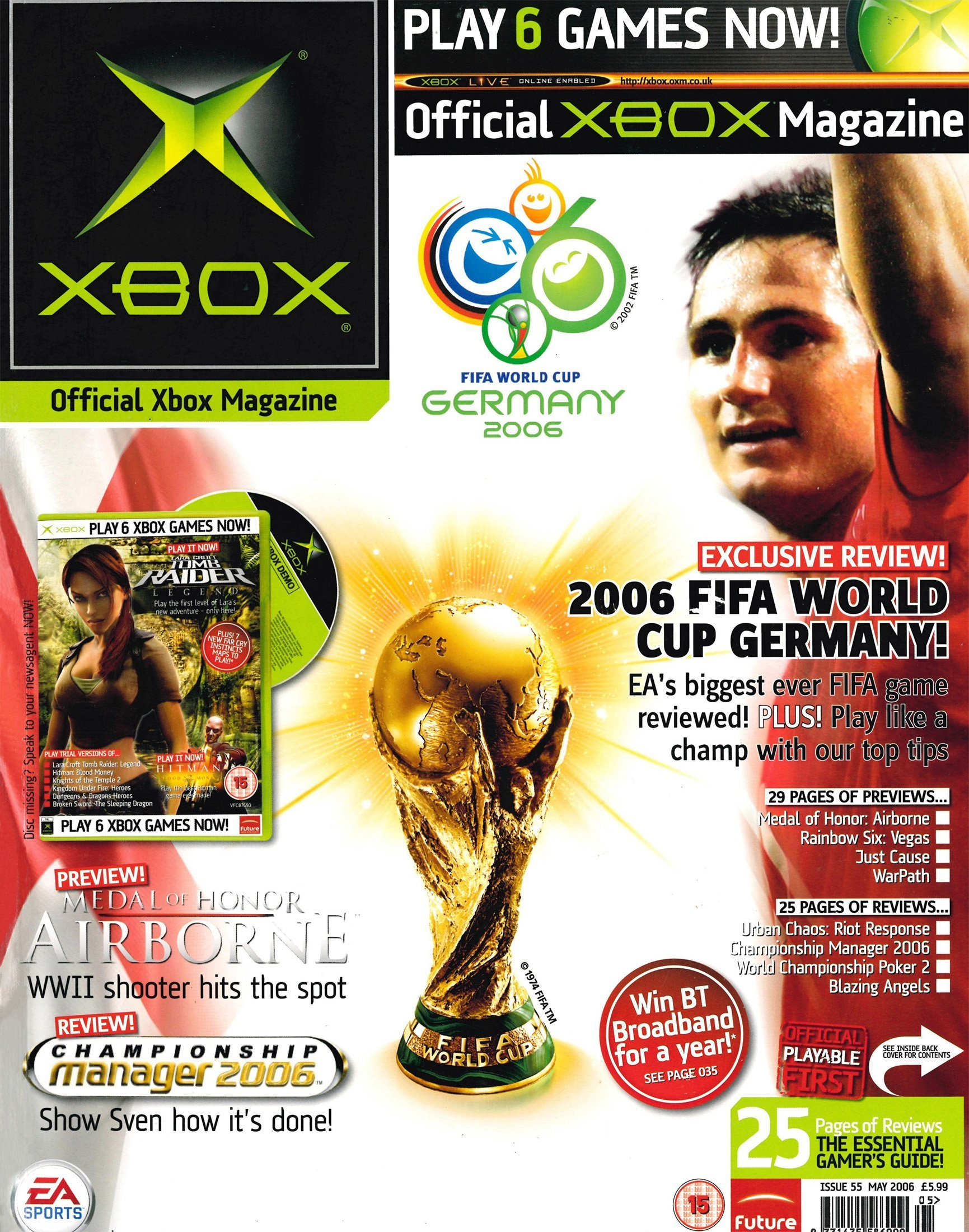 Official UK Xbox Magazine Issue 55 - May 2006