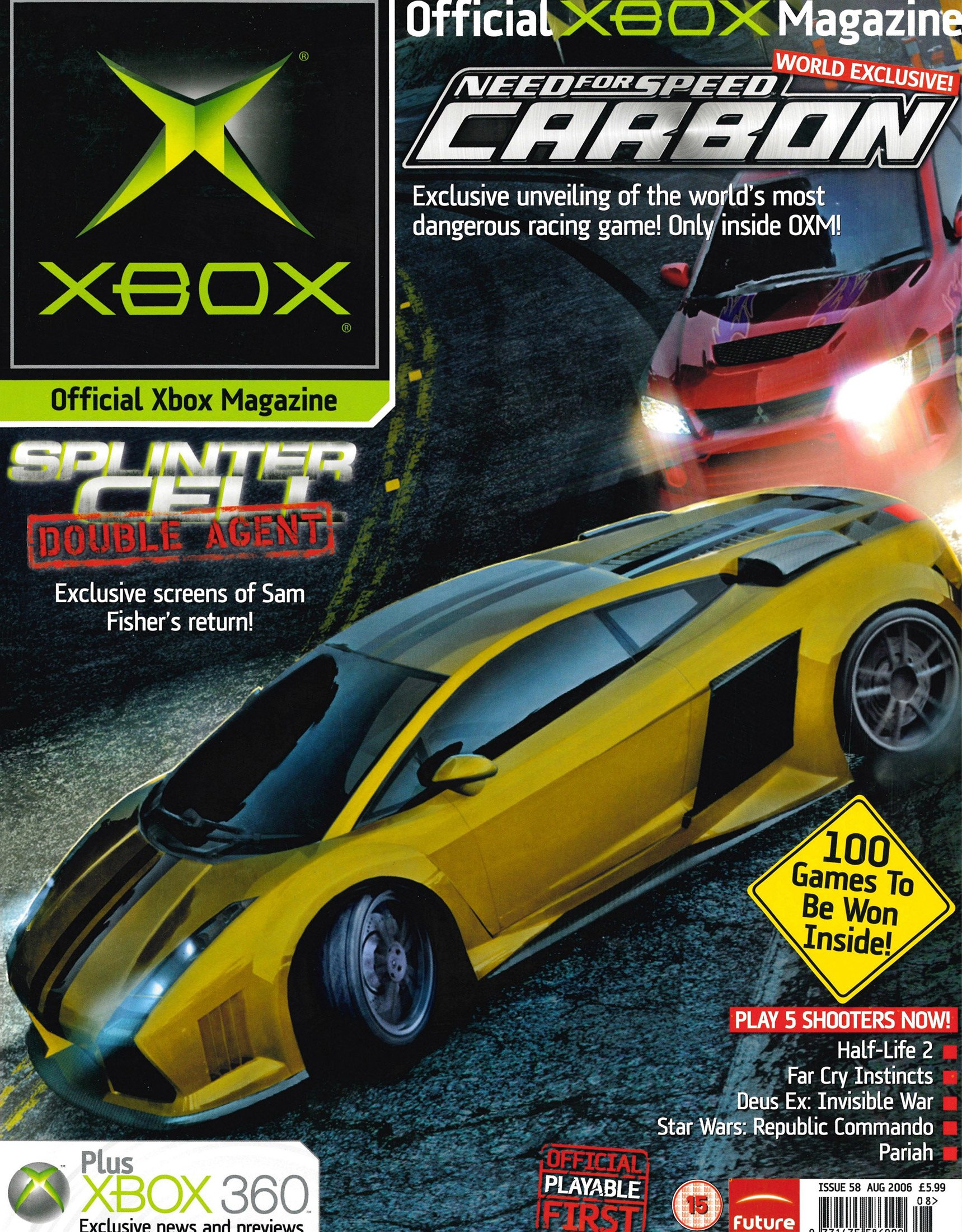 Official UK Xbox Magazine Issue 58 - August 2006