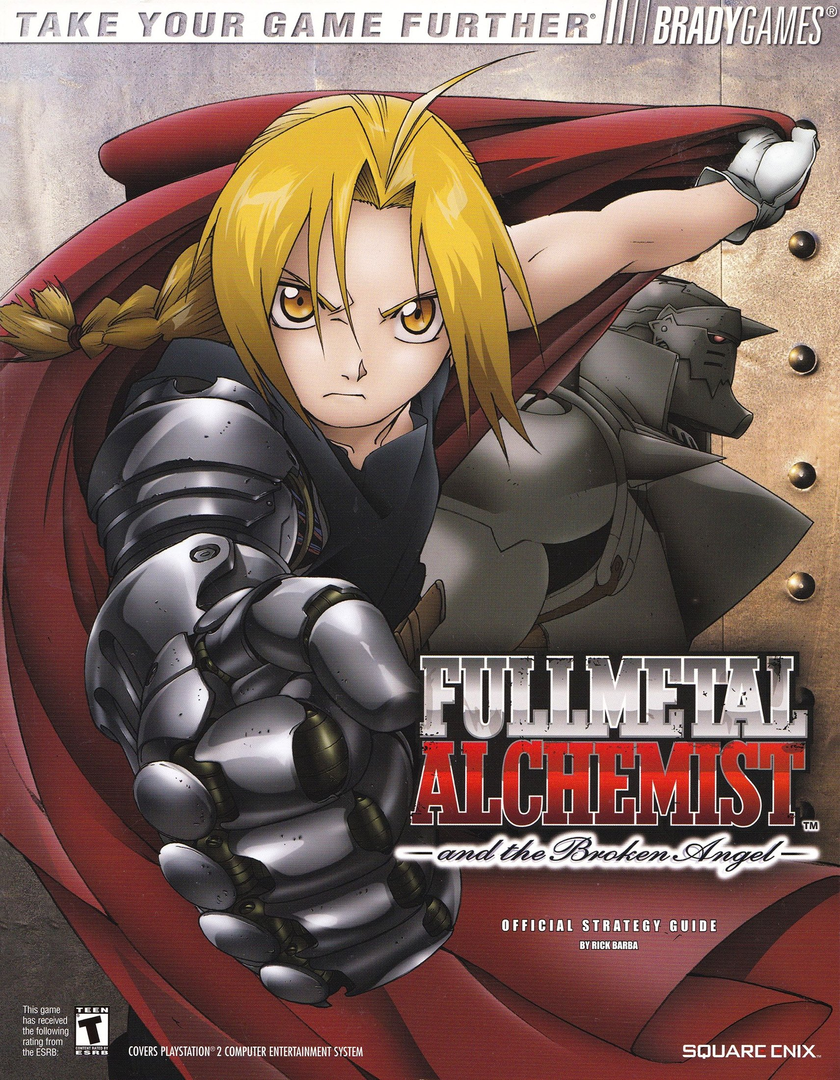 FullMetal Alchemist and the Broken Angel Official Guide