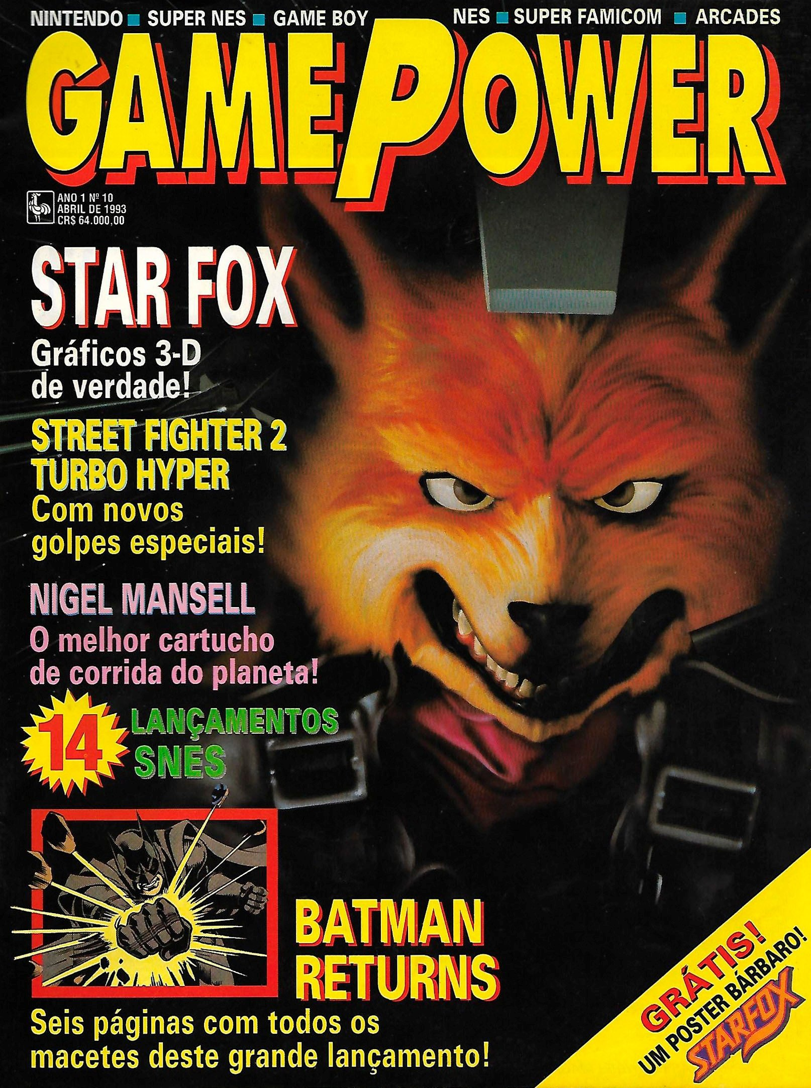 GamePower Issue 010 (April 1993)