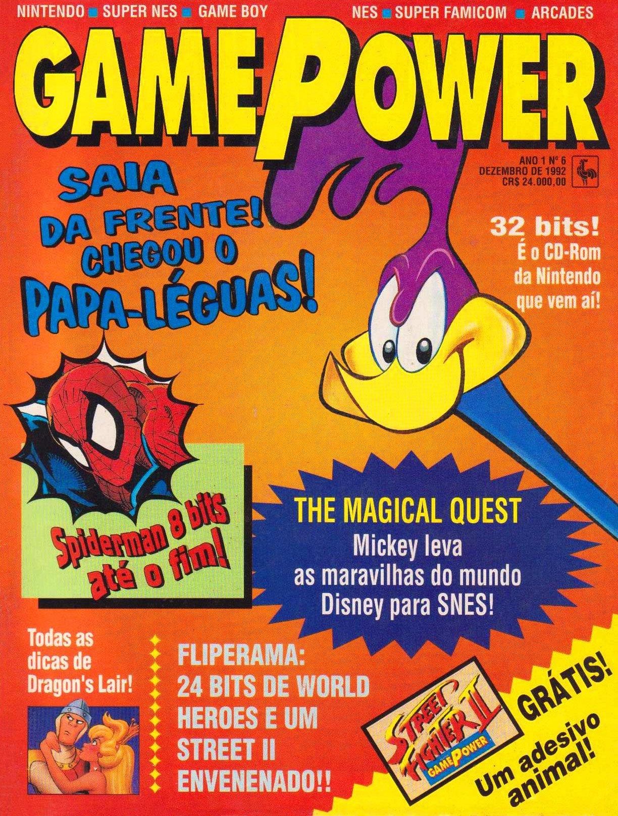 GamePower Issue 06 (December 1992)