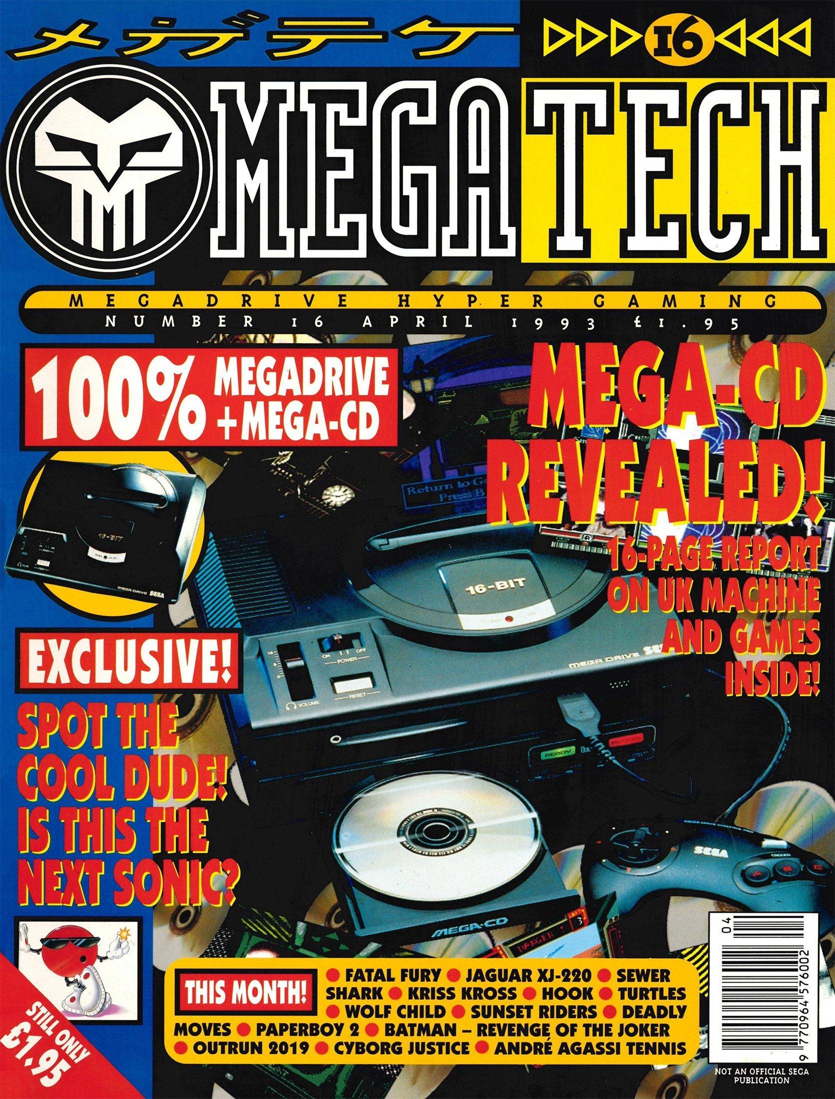 MegaTech 16 (April 1993)
