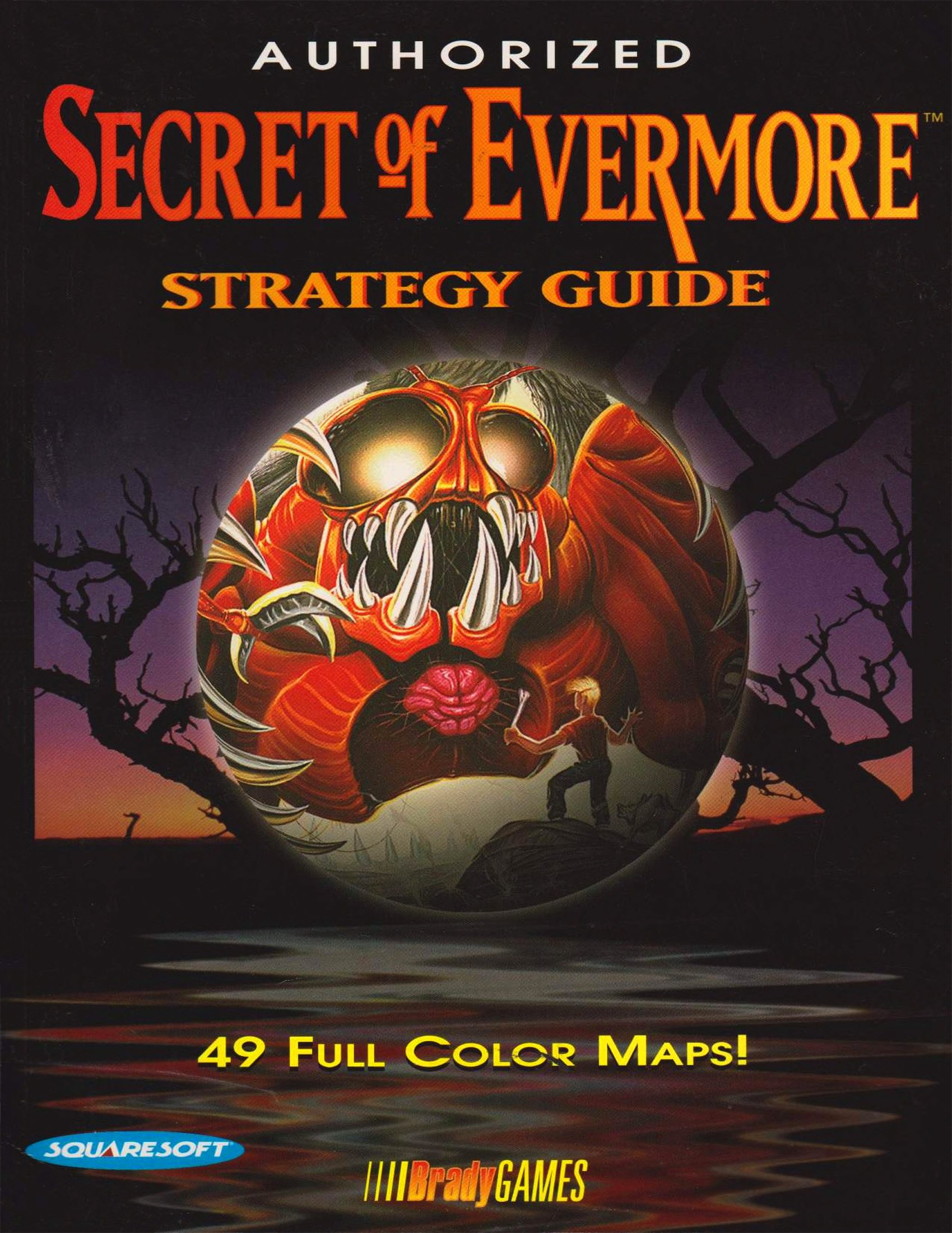Secret of Evermore Authorized Guide