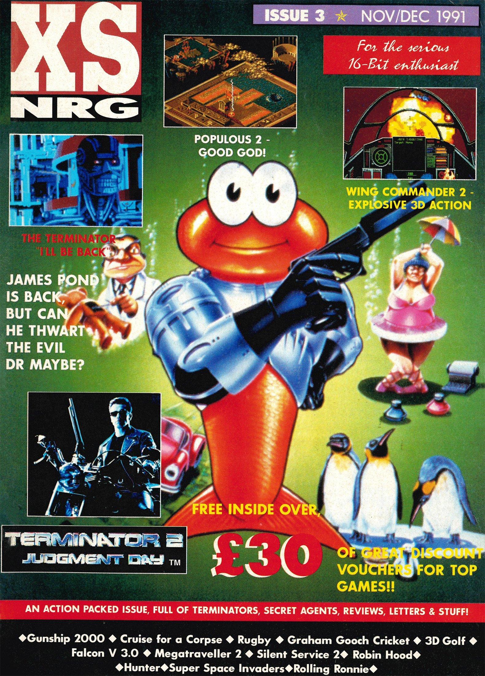 XS NRG Issue 03 (November/December 1991)