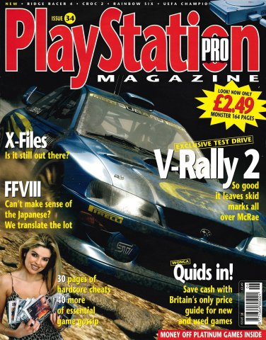 PlayStation Pro Issue 34 (May 1999)