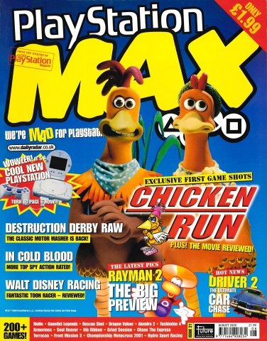 PlayStation Max Issue 21 (August 2000)