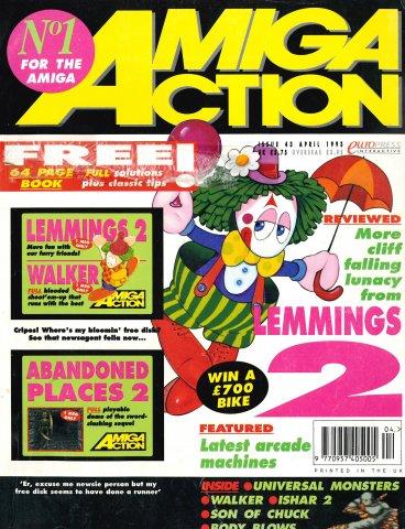 Amiga Action 043 (April 1993)
