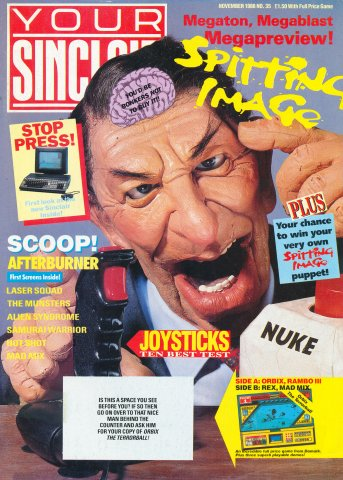Your Sinclair Issue 35 (November 1988)