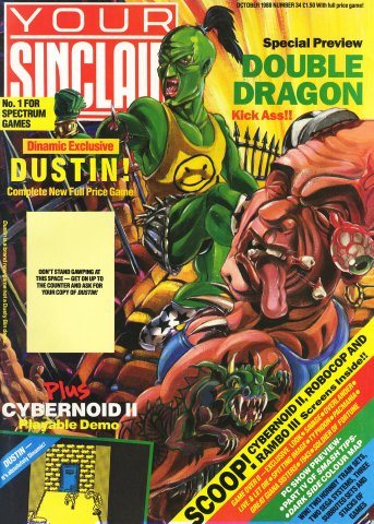 Your Sinclair Issue 34 (October 1988)