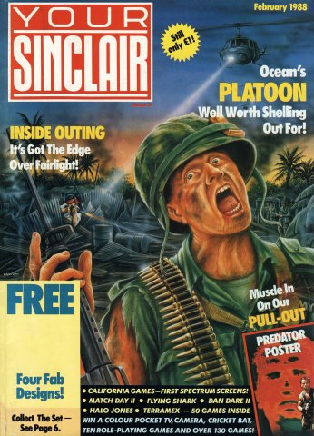Your Sinclair Issue 26 (February 1988)