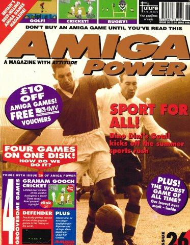 Amiga Power Issue 26 (June 1993)