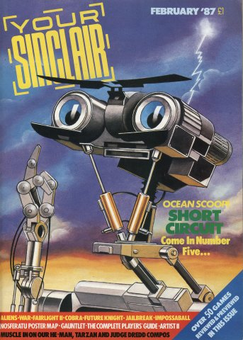 Your Sinclair Issue 14 (February 1987)