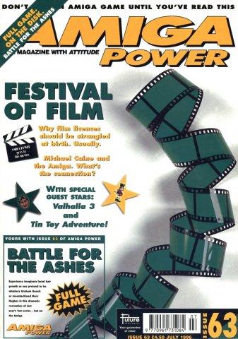 Amiga Power Issue 63 (July 1996)