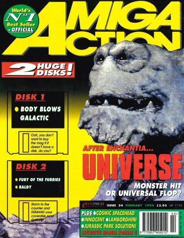 Amiga Action 054 (February 1994)